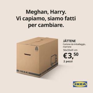 IKEA σε Χάρι και Μέγκαν: Σας καταλαβαίνουμε! Είμαστε φτιαγμένοι για να αλλάζουμε