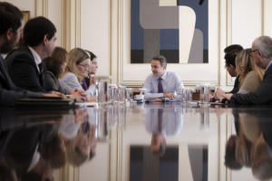 Συνάντηση Μητσοτάκη με την ηγεσία του υπ. Εργασίας [pics]