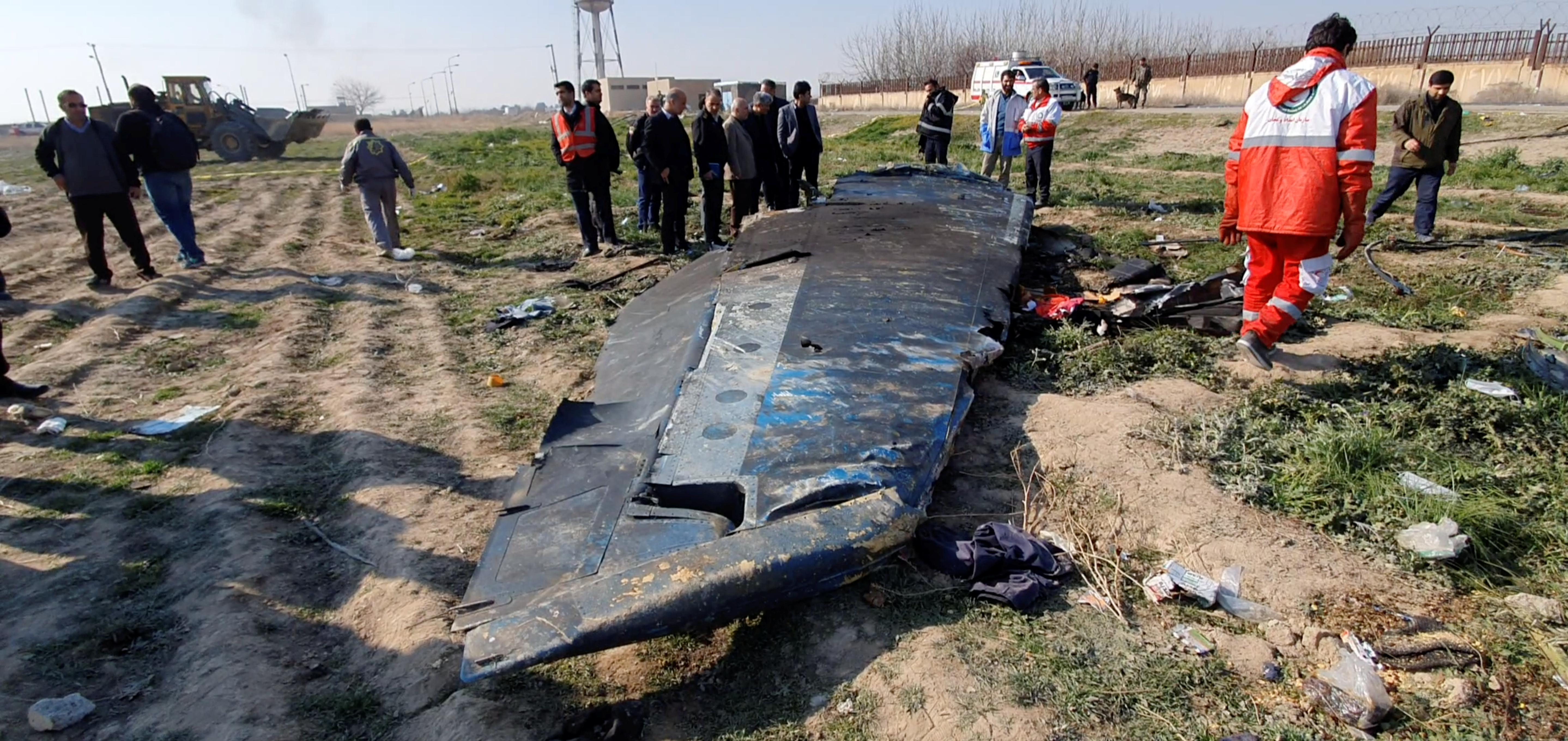 Ιράν - αεροπορική τραγωδία
