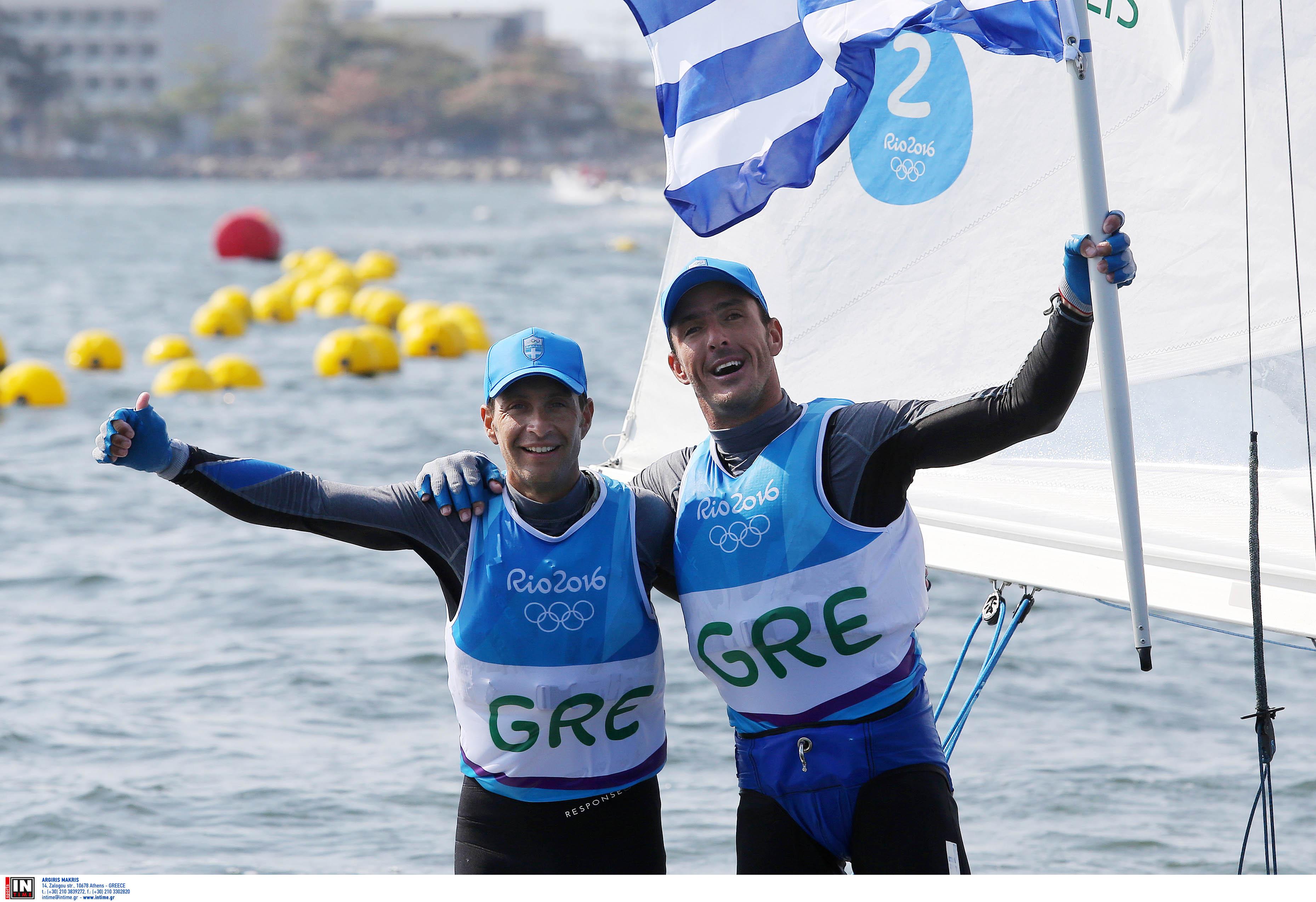 Ολυμπιακοί Αγώνες: Στην τέταρτη θέση οι Μάντης και Καγιαλής μετά την τέταρτη ιστιοδρομία