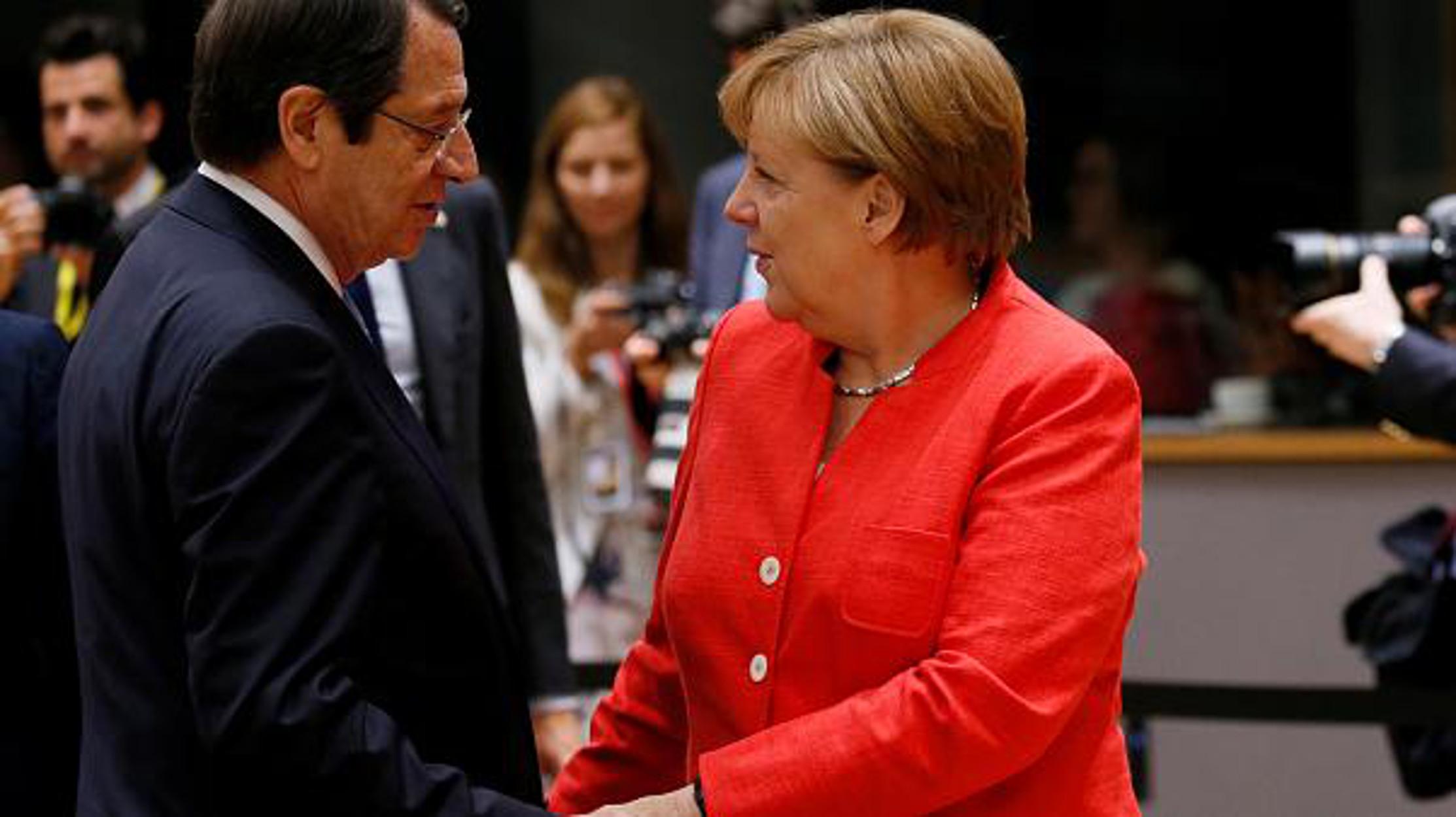 Αναστασιάδης σε Μέρκελ: Πες του Ερντογάν να σταματήσει τις γεωτρήσεις στην Κυπριακή ΑΟΖ
