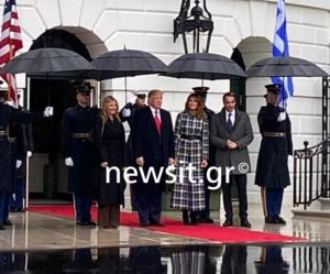 Μητσοτάκης: Καρέ καρέ η άφιξη του πρωθυπουργού στον Λευκό Οίκο