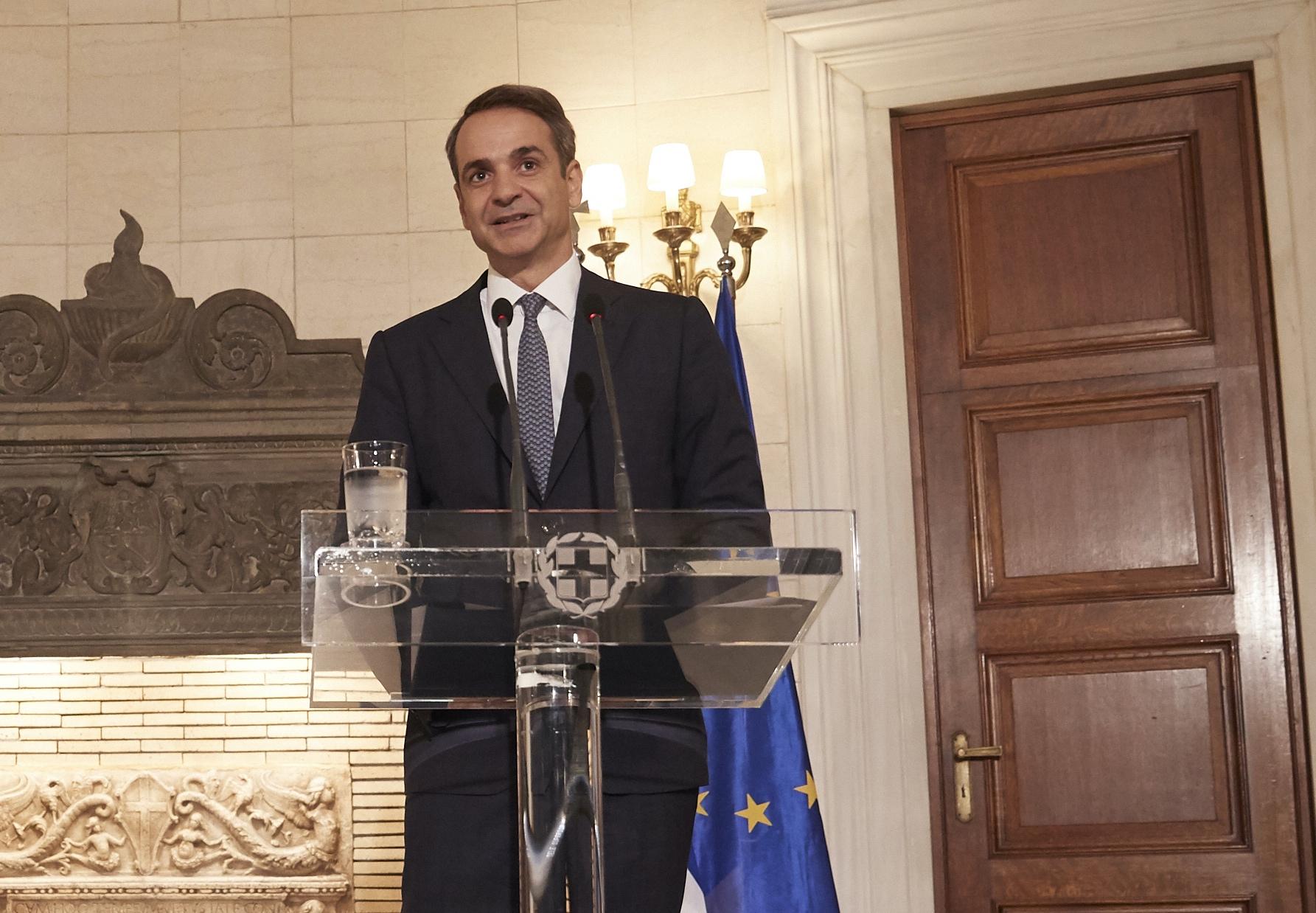 Την Αικατερίνη Σακελλαροπούλου πρότεινε για Πρόεδρο της Δημοκρατίας ο Κυριάκος Μητσοτάκης
