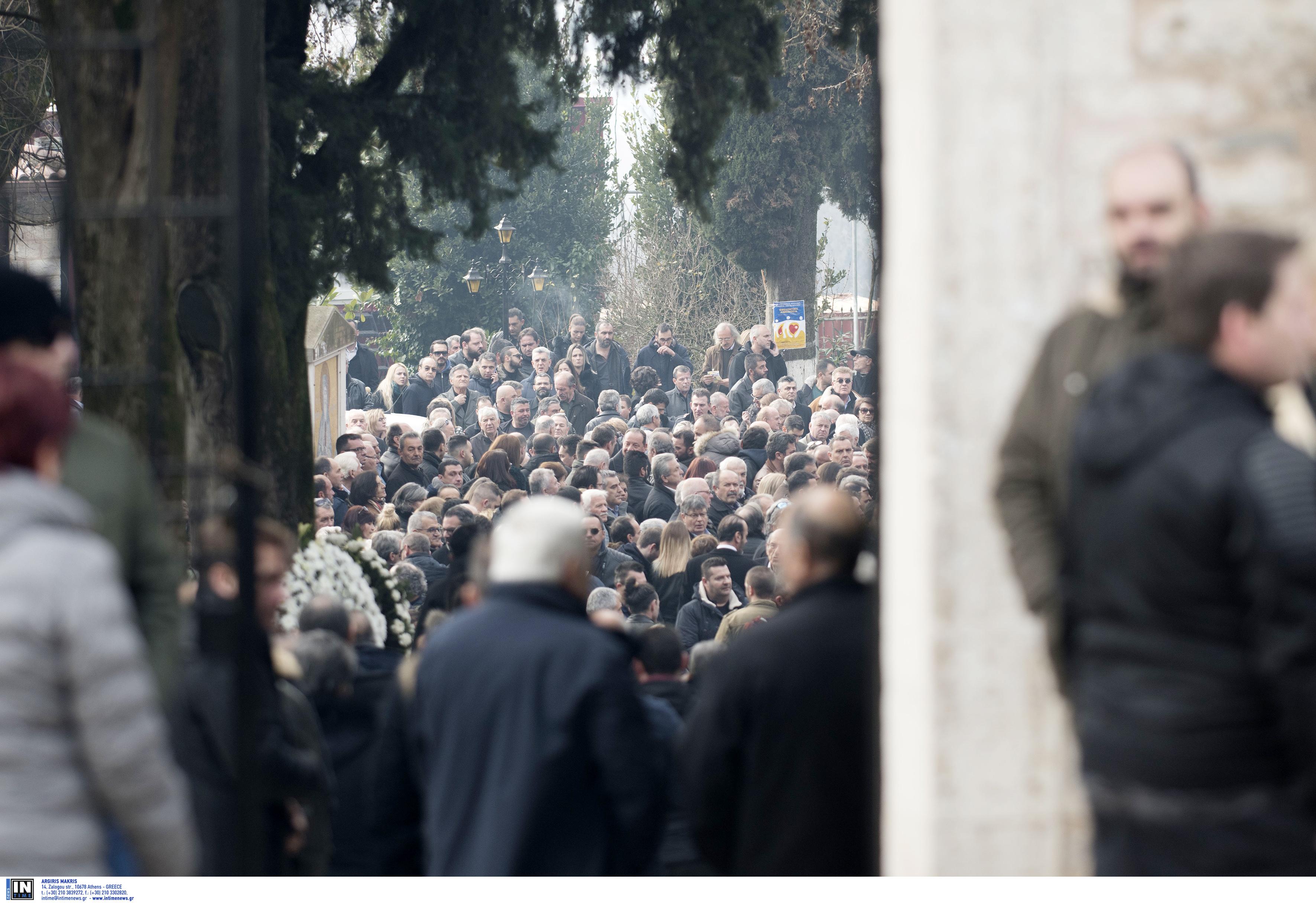 Θεόδωρος Νιτσιάκος: Ανείπωτη θλίψη στο τελευταίο αντίο…