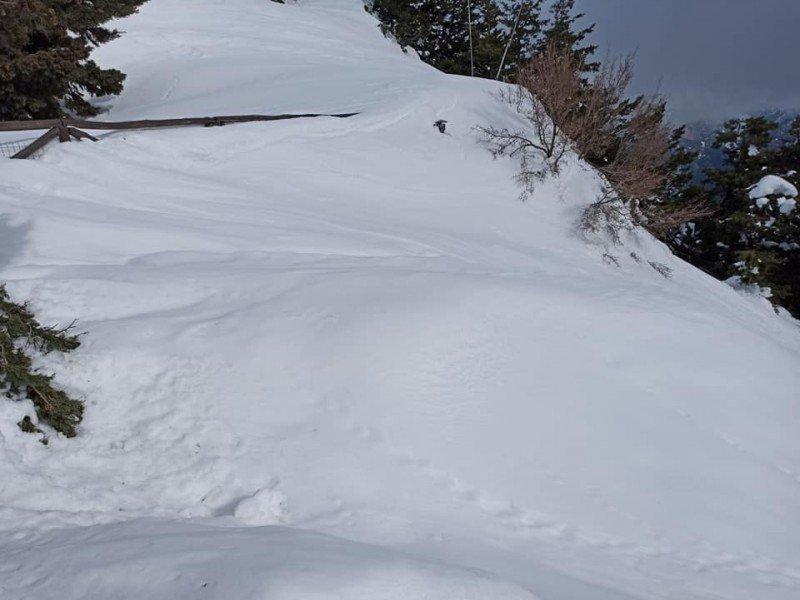 Τρίκαλα: Πυκνό χιόνι από τα 900 μέτρα και πάνω! Επί ποδός τα συνεργεία για να μην κλείσουν δρόμοι
