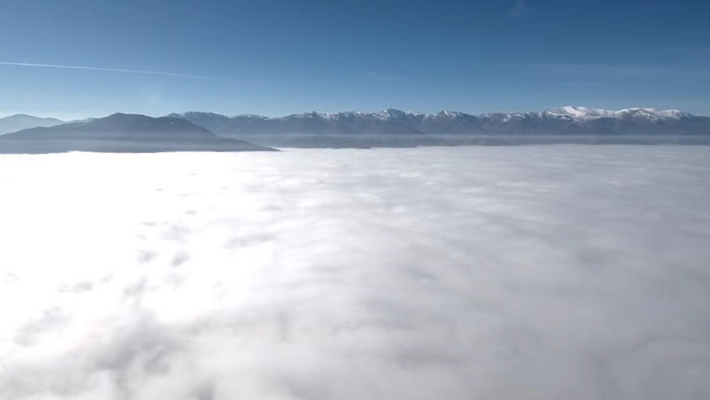 Φλώρινα – Καθηλώνουν οι εικόνες με την παγωμένη ομίχλη! Όταν η φύση ζωγραφίζει [video]