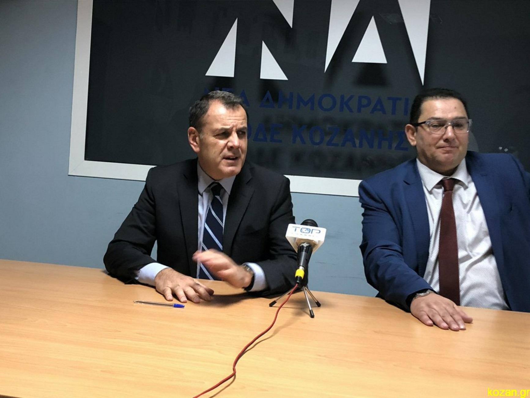 Κοζάνη: Η ερώτηση για την Τουρκία που σχολίασε αρνητικά ο Νίκος Παναγιωτόπουλος [video]