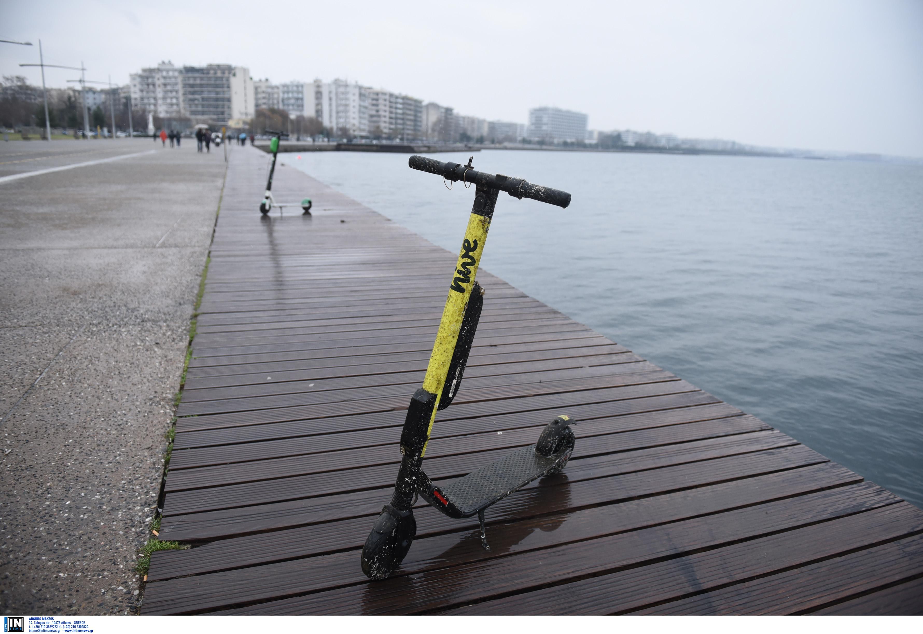Θεσσαλονίκη: Τον κυνηγούσε η αστυνομία και προσπάθησε να ξεφύγει με… ηλεκτρικό πατίνι