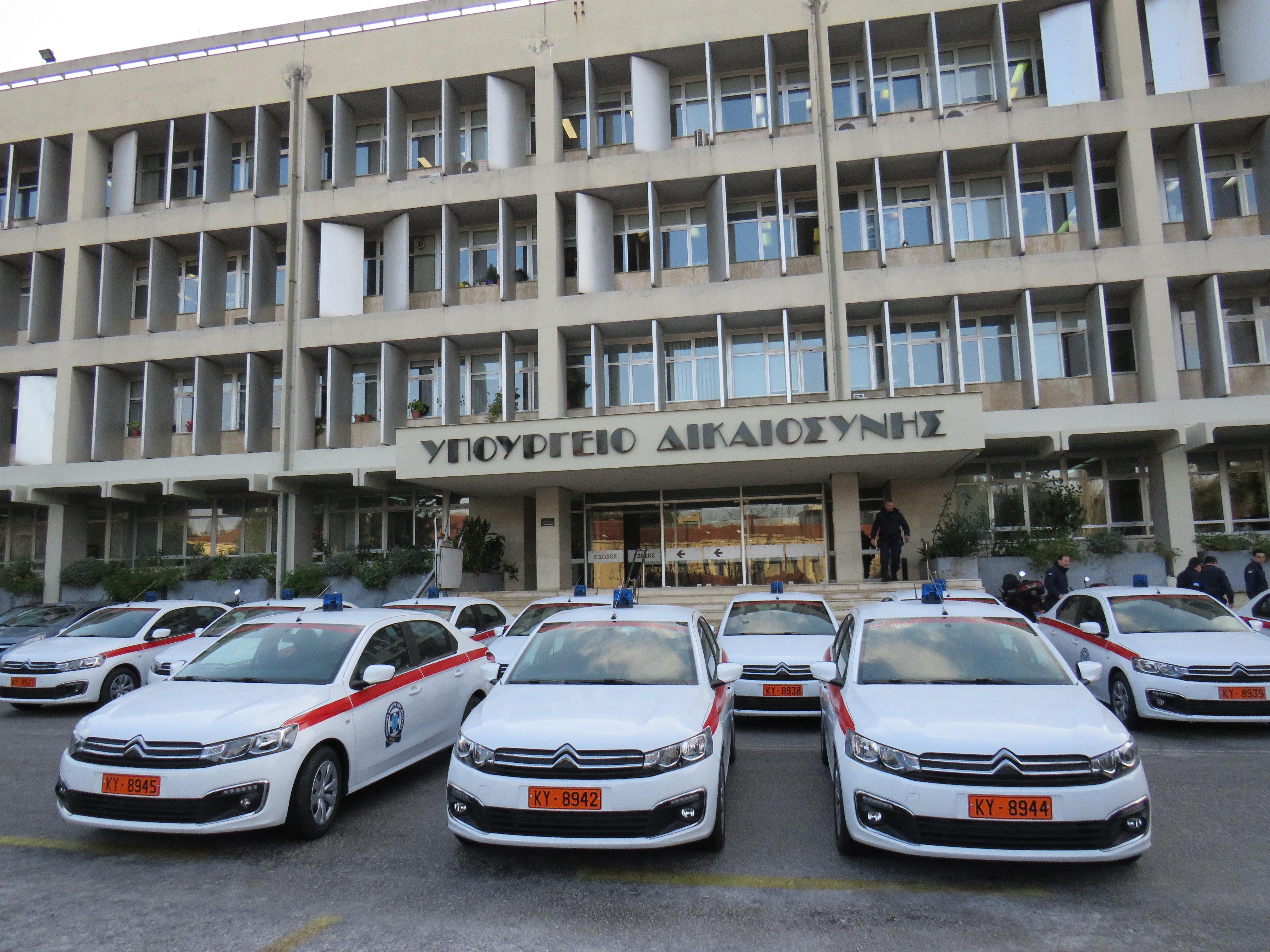 11 ολοκαίνουργια αυτοκίνητα παρέλαβε το Υπουργείο Προστασίας του Πολίτη