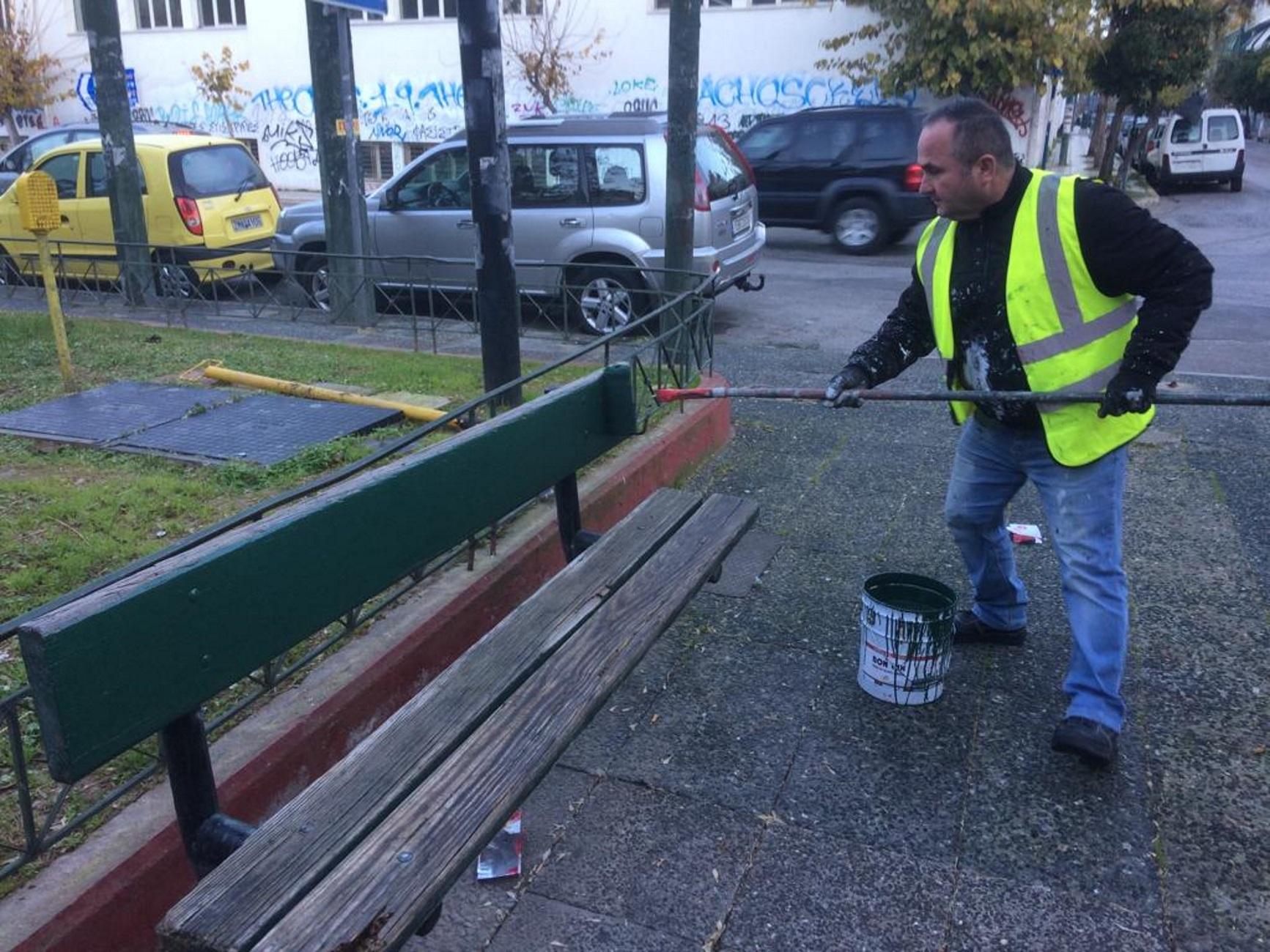Άλλαξε όψη η πλατεία Αττικής! Εργασίες συντήρησης και γενικός καθαρισμός