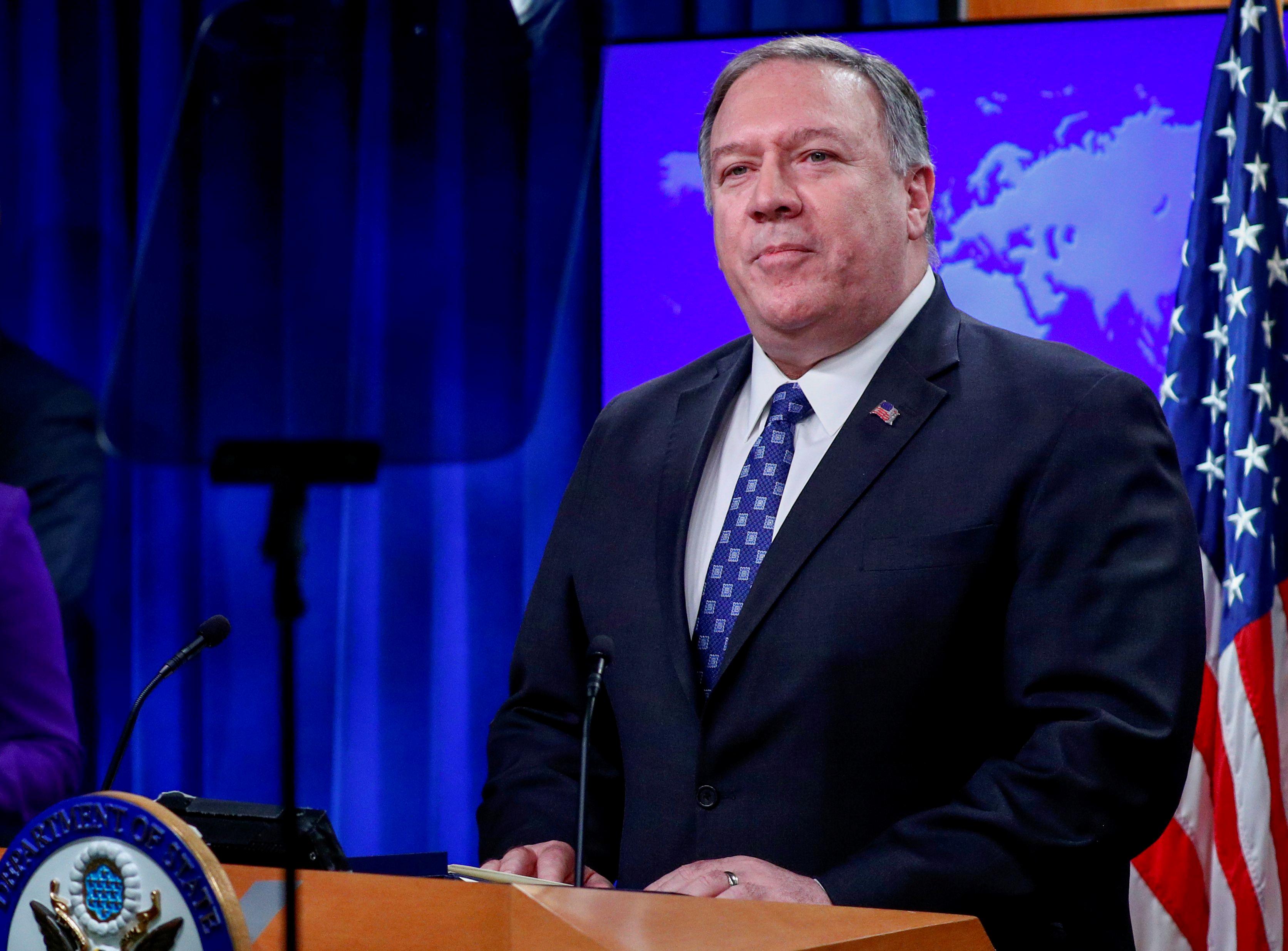 Πομπέο: Να πει την αλήθεια το Ιράν για τα κρούσματα κορονοϊού