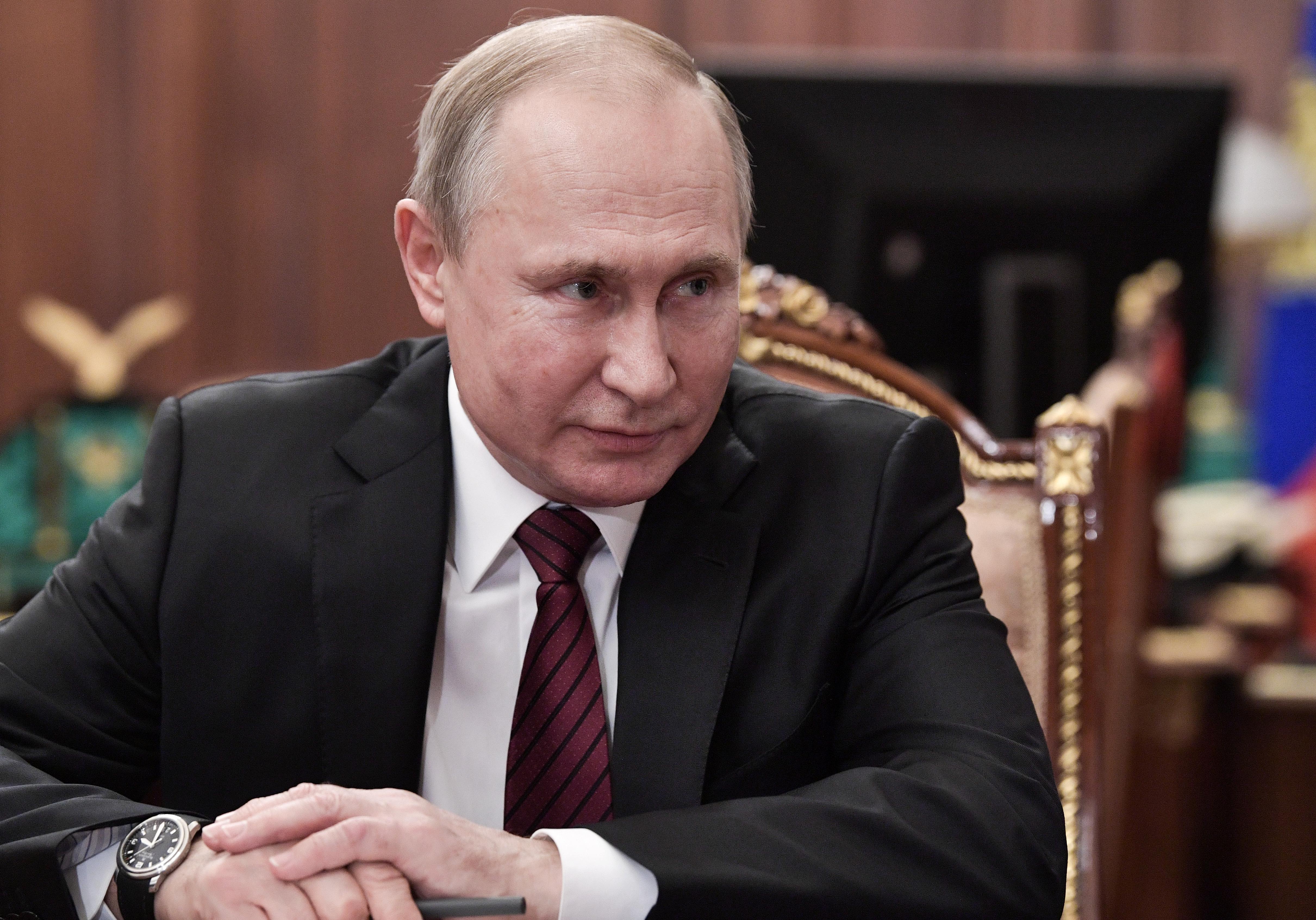 κορονοϊός Ρωσία Πούτιν