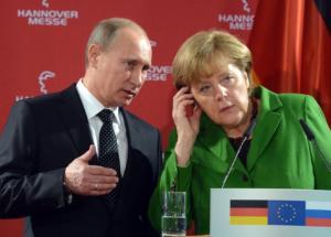 Μέρκελ: Η κρίση στη Μέση Ανατολή στο επίκεντρο της συνάντησης με Πούτιν