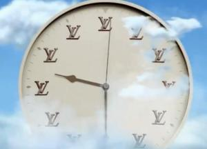 Ένα ρολόι που δείχνει αντίστροφα τον χρόνο, από τον Virgil Abloh