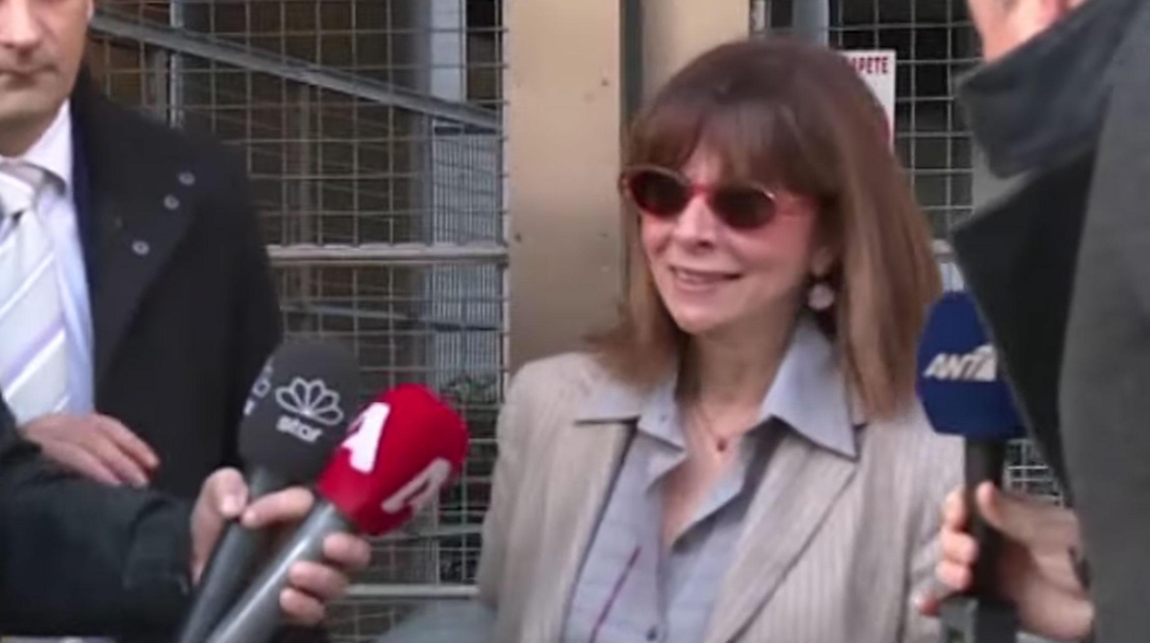 Αικατερίνη Σακελλαροπούλου: Πρόεδρος της Δημοκρατίας από την πρώτη ψηφοφορία