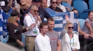 Σάκκαρη: Πλάνταξαν οι γονείς της μετά της νίκη της στο Australian Open