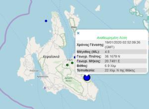 Σεισμός Κεφαλονιά: Οι ελάχιστοι μετασεισμοί ανησυχούν τους κατοίκους