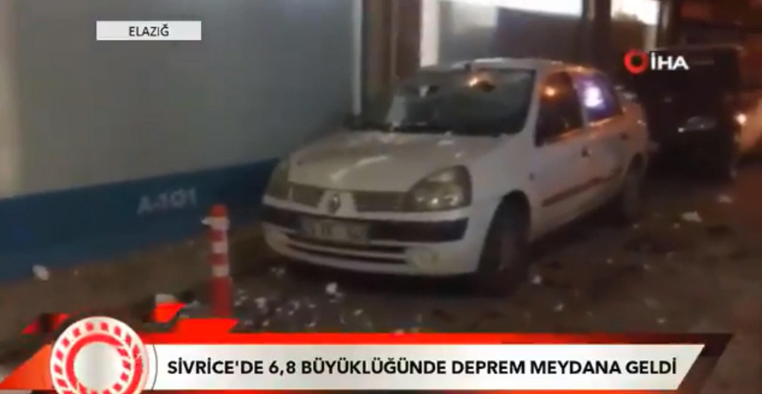 Πανίσχυρος σεισμός στην Τουρκία! Οι πρώτες εικόνες του πανικού [video]