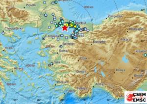 Σεισμός στην Τουρκία: Ισχυρή δόνηση ανησύχησε τη γειτονική χώρα