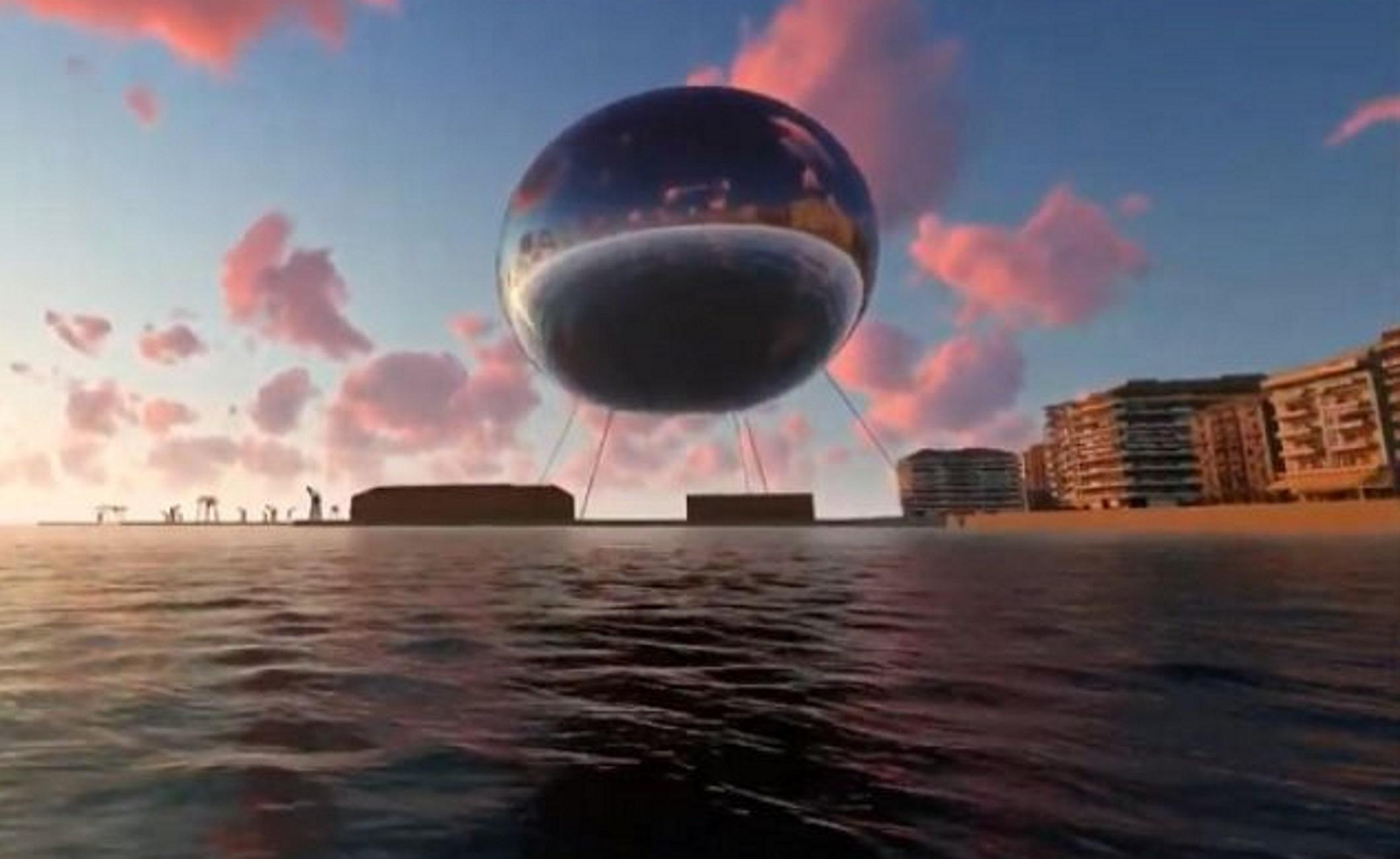 Θεσσαλονίκη: Αυτό είναι το σχέδιο για μία τεράστια σφαίρα πάνω από τον Θερμαϊκό που θα φωτίζει την πόλη [video]