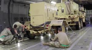 Με διάσειση Αμερικανοί στρατιώτες σε στρατιωτική βάση του Ιράκ, μετά την επίθεση του Ιράν