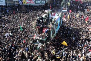 Ιράν: Χάος και αίμα στην κηδεία του Σουλεϊμανί