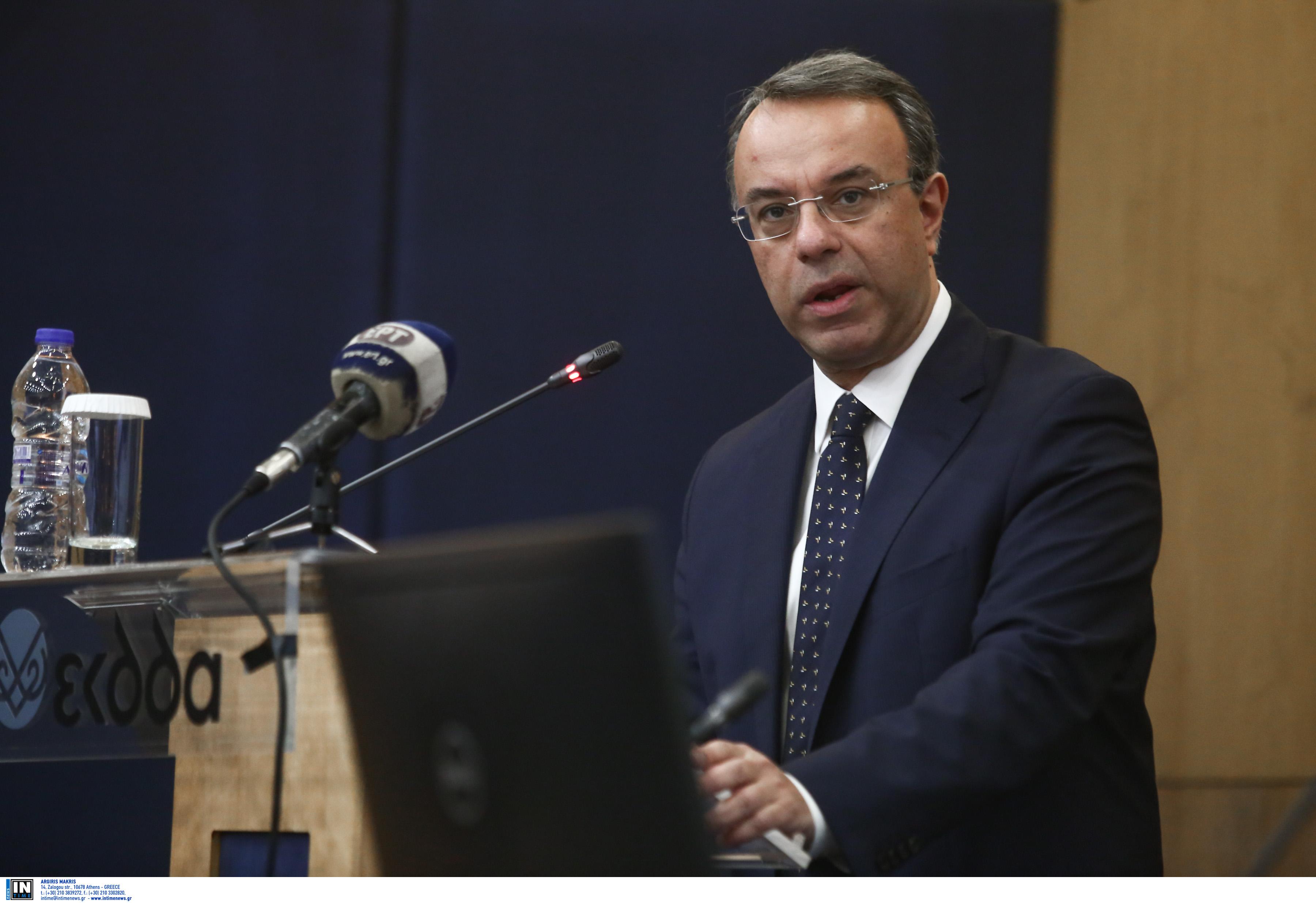 Χρήστος Σταϊκούρας: Ρεαλιστικός ο στόχος για ανάπτυξη 3,6%