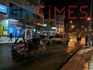 Πανικός στην Θεσσαλονίκη! Καταδίωξη διακινητή μεταναστών που έπεσε πάνω σε Ι.Χ [video]