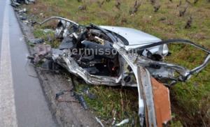 Λιβαδειά: Σοκαριστικές εικόνες από το τροχαίο που άφησε στον… τόπο τους δύο φίλους! video