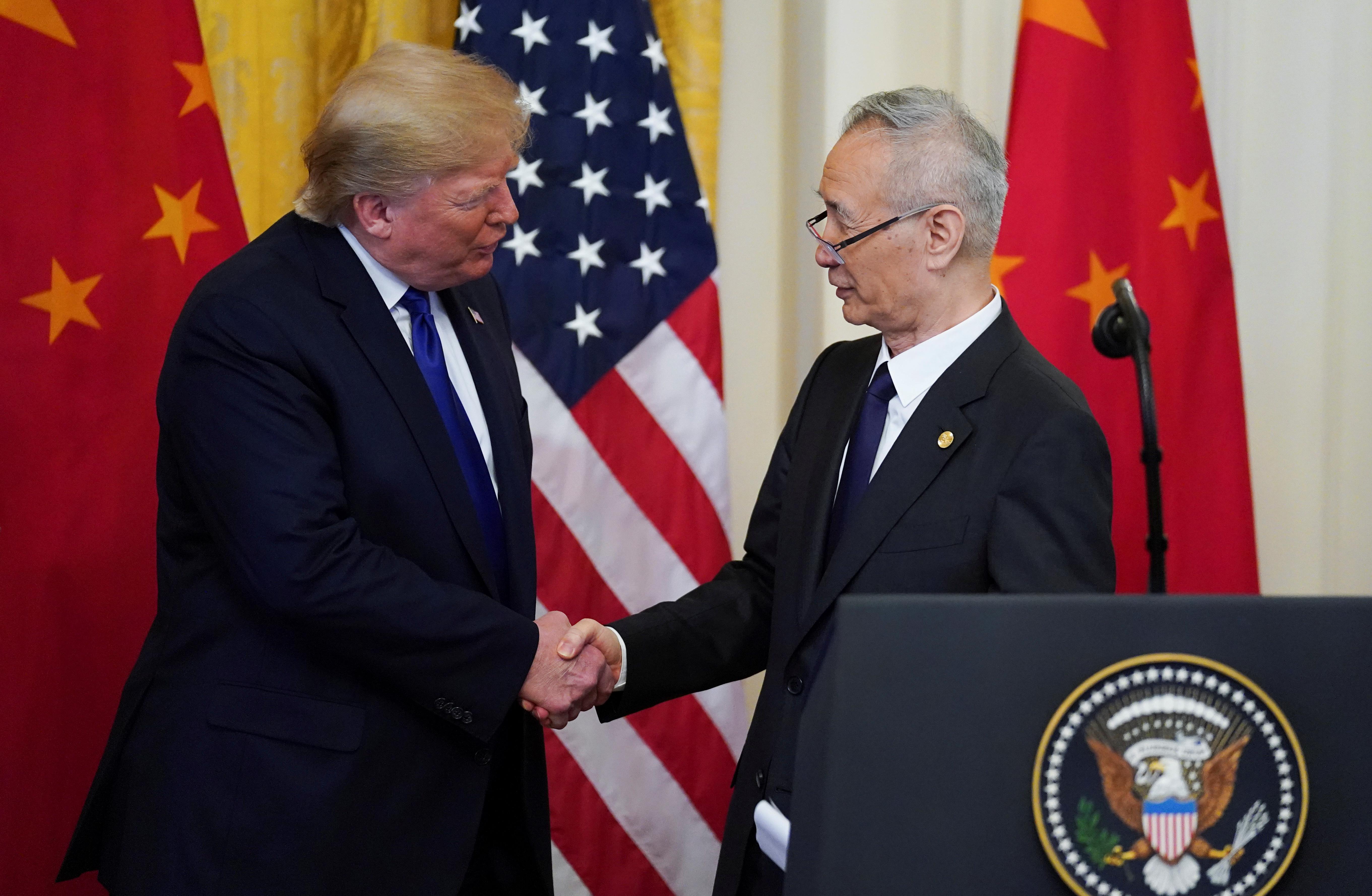 ΗΠΑ: Σε εξέλιξη συζητήσεις για την δεύτερη φάση της εμπορικής συμφωνίας με την Κίνα