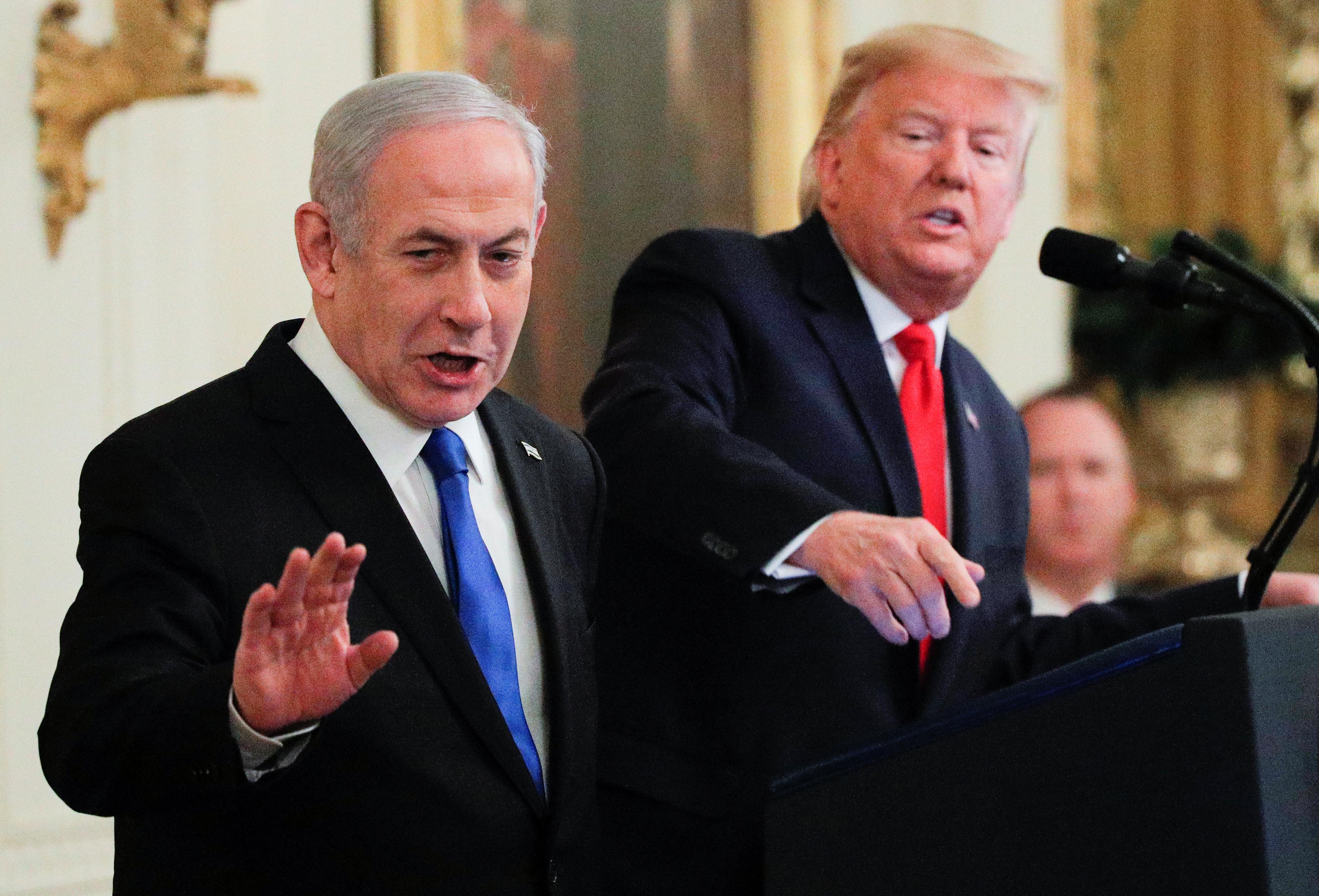 """Αυτό είναι το ειρηνευτικό σχέδιο του Τραμπ για τη Μέση Ανατολή - """"Η συμφωνία του αιώνα"""""""
