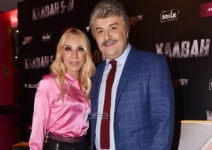 Μάρκος Σεφερλής – Έλενα Τσαβαλιά: Με τον γιο τους στην πρώτη προβολή της νέας τους ταινίας! [pics]