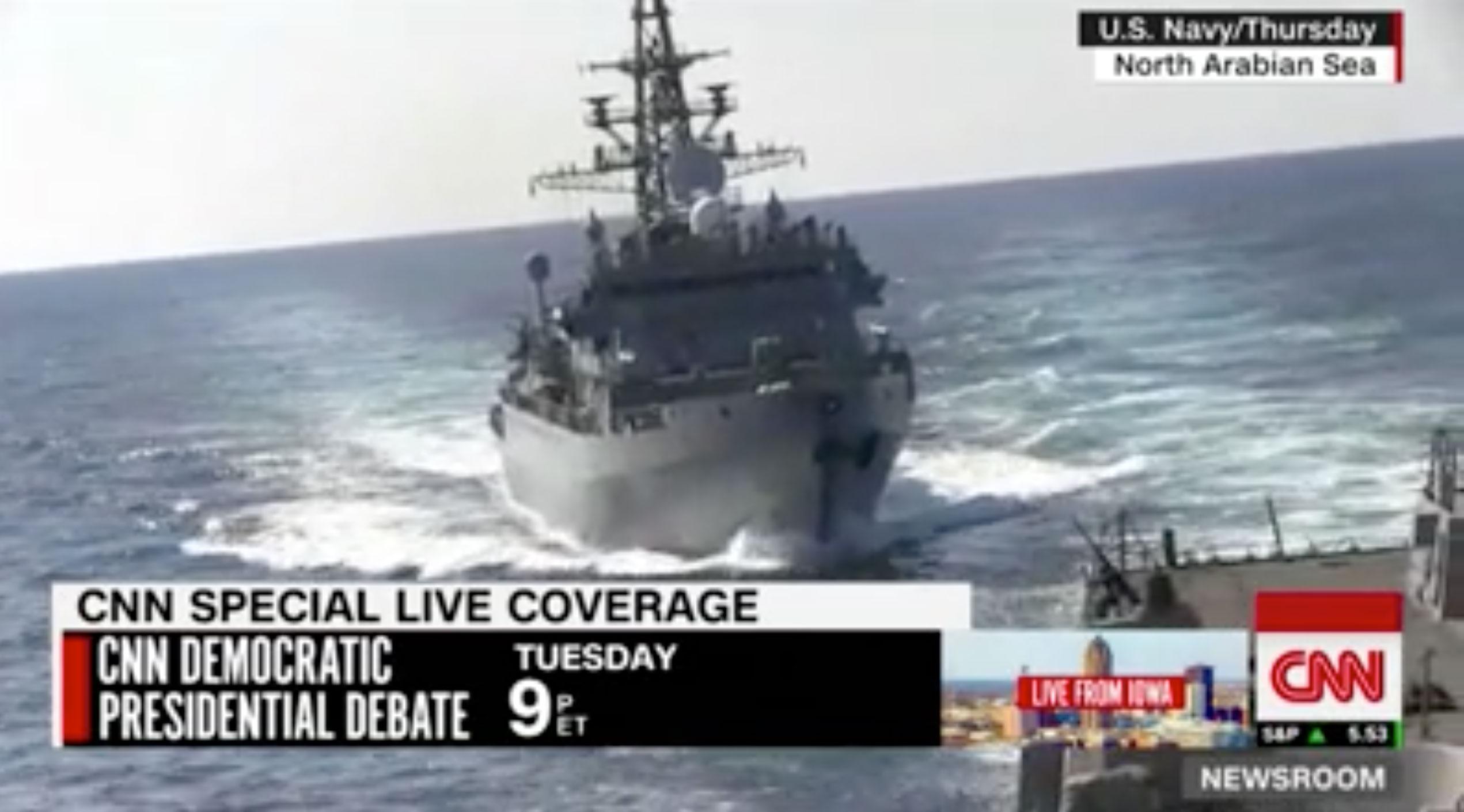 Θερμό επεισόδιο ΗΠΑ - Ρωσίας στην Αραβική Θάλασσα! Ρωσικό πολεμικό πλησίασε απειλητικά αμερικανικό! Video