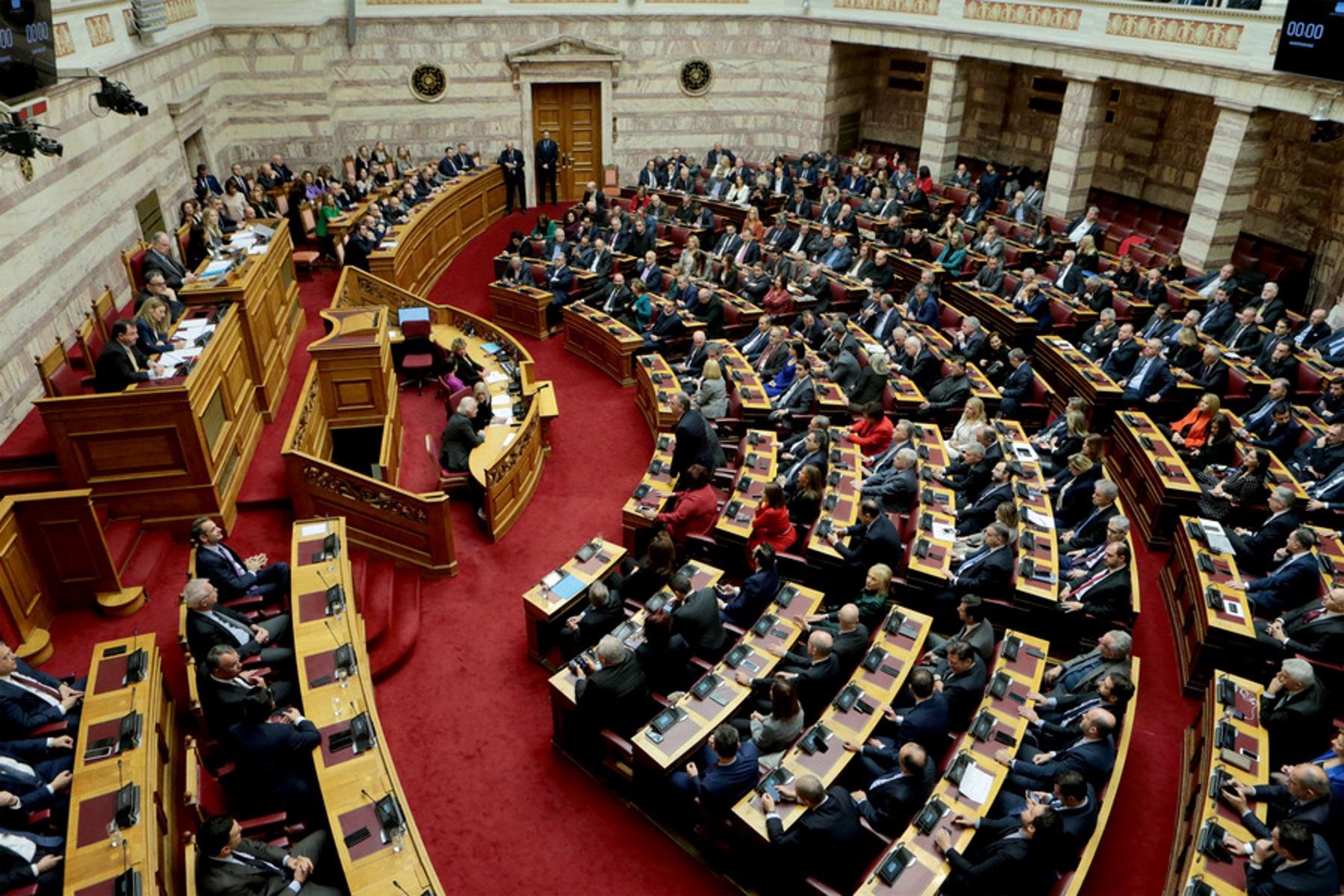 Βουλή: Δεκτό επί της αρχής το νομοσχέδιο για το νέο ασφαλιστικό