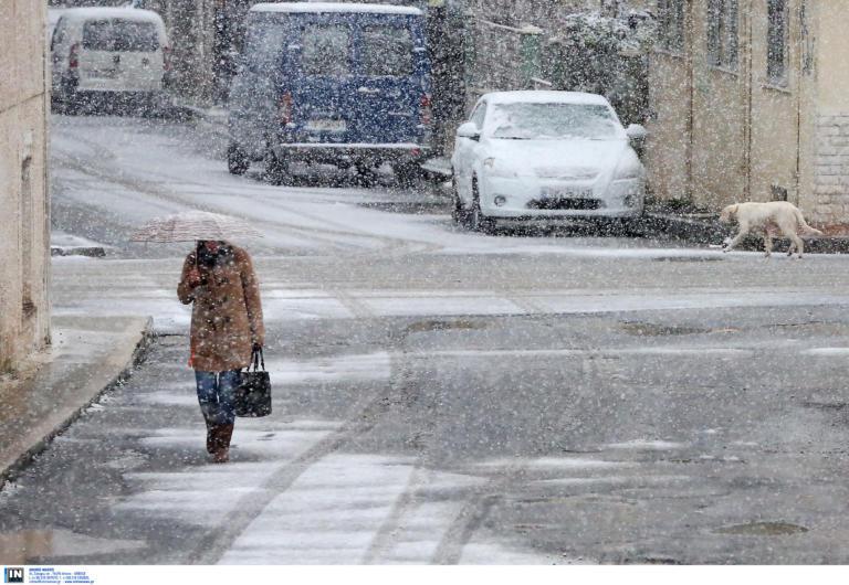 Καιρός meteo: Χιόνια και στην Αττική τις επόμενες ώρες