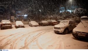 Καιρός Ηφαιστίων: Χιόνια τα Θεοφάνεια