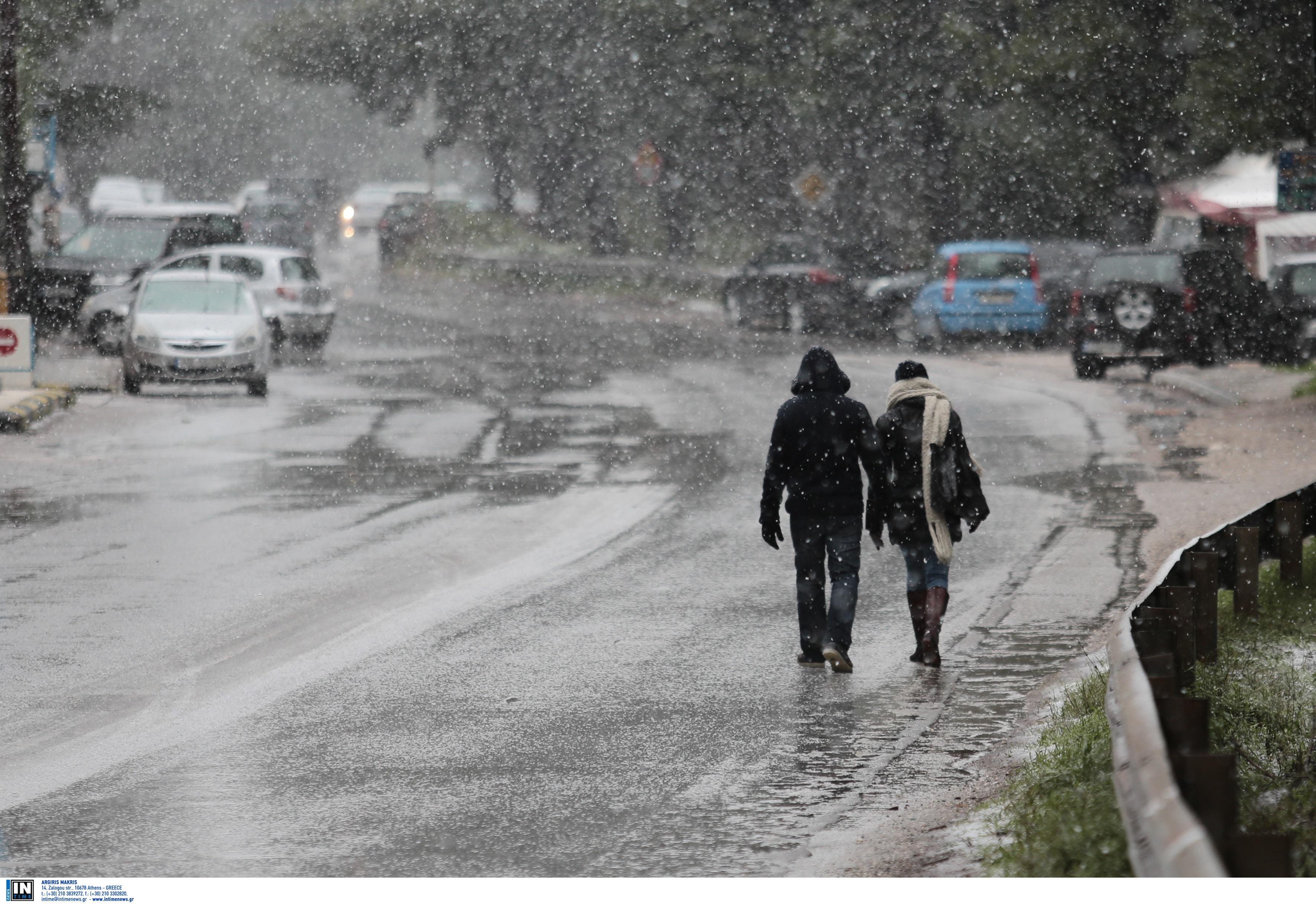 Κακοκαιρία «Μήδεια» – Κέρκυρα: Χιόνισε σε Οθωνούς και Λευκίμμη