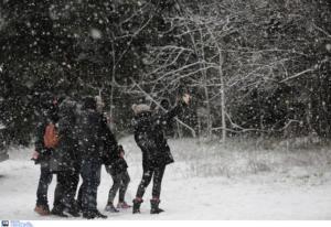 Καιρός: Κρύο, χιόνια και βοριάδες 10 μποφόρ σήμερα