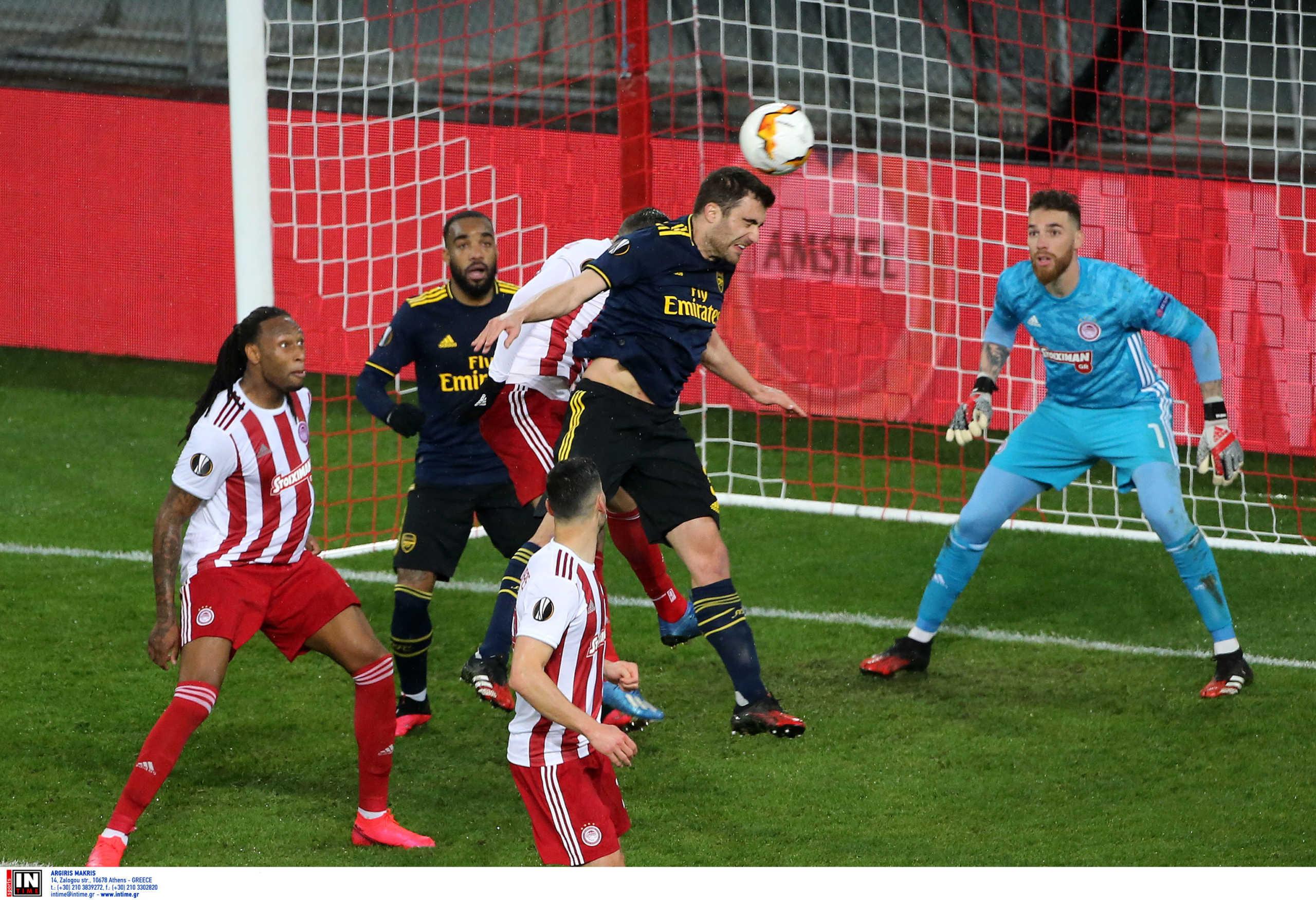 """Ολυμπιακός – Άρσεναλ 0-1 ΤΕΛΙΚΟ: Πάλεψε, αλλά ηττήθηκε στο """"Καραϊσκάκης"""