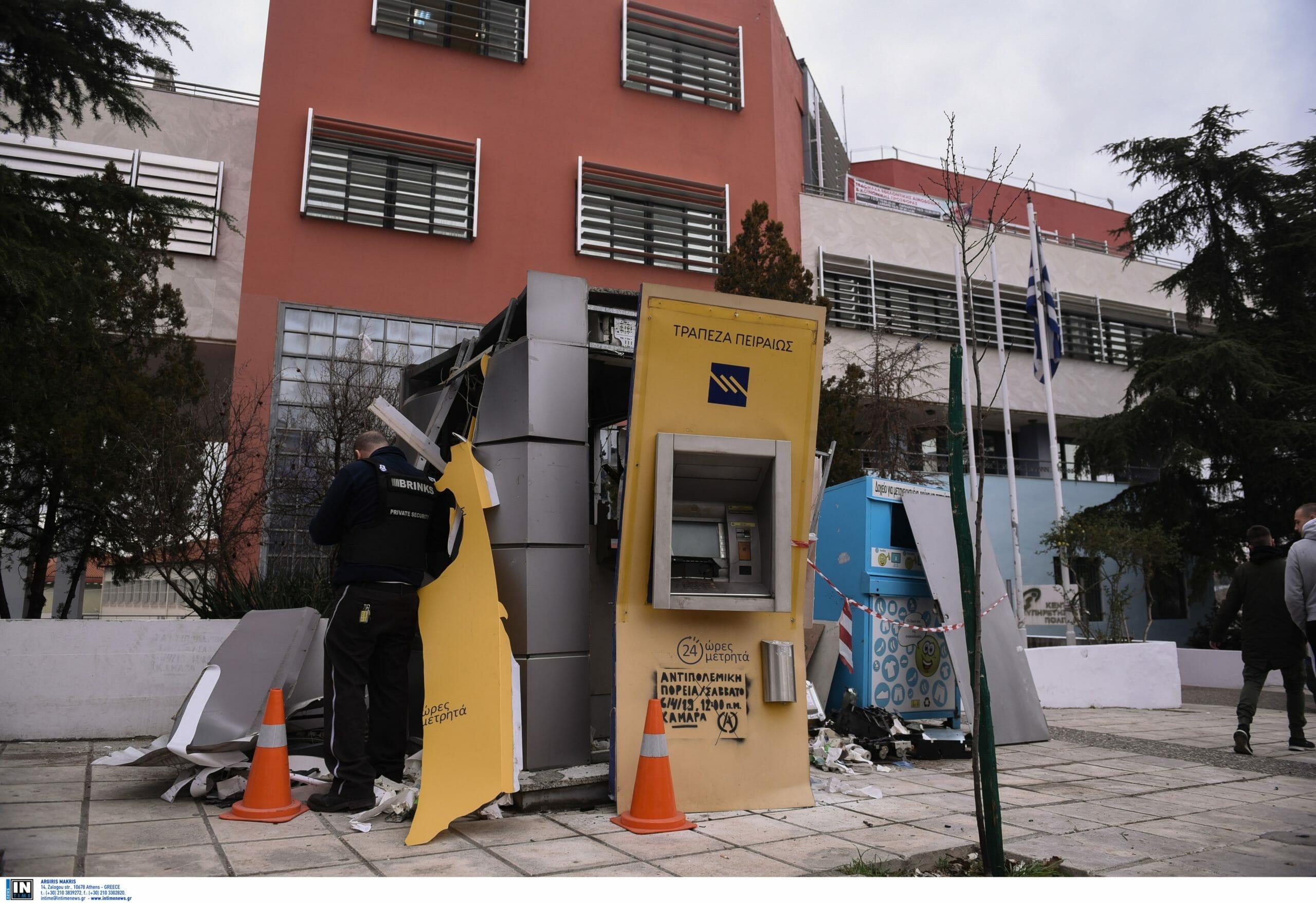 Ανατίναξαν κι άλλο ΑΤΜ στη Θεσσαλονίκη και άρπαξαν τα χρήματα