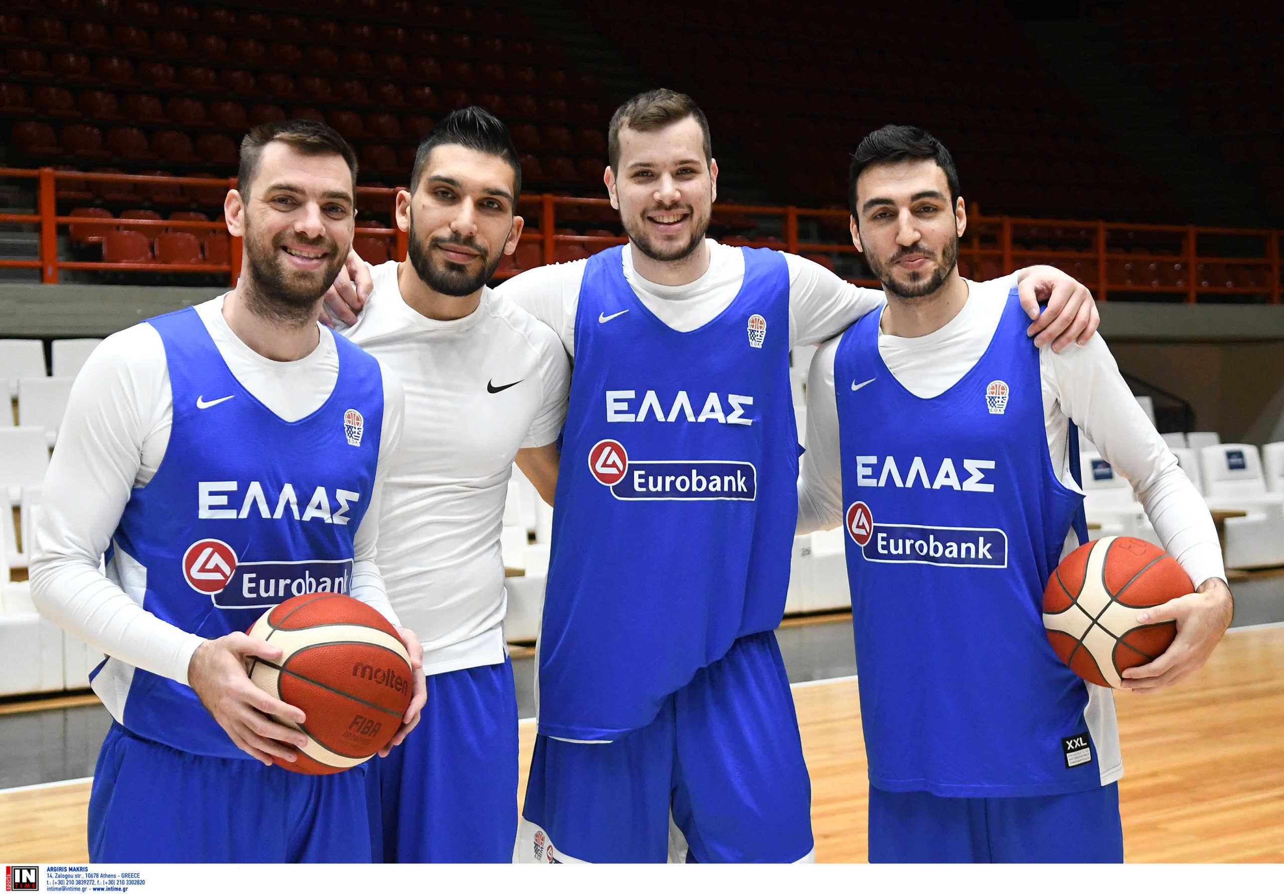 """Εθνική μπάσκετ: """"Τσίκνισαν"""" πριν το ματς με τη Βουλγαρία οι διεθνείς! (pics)"""