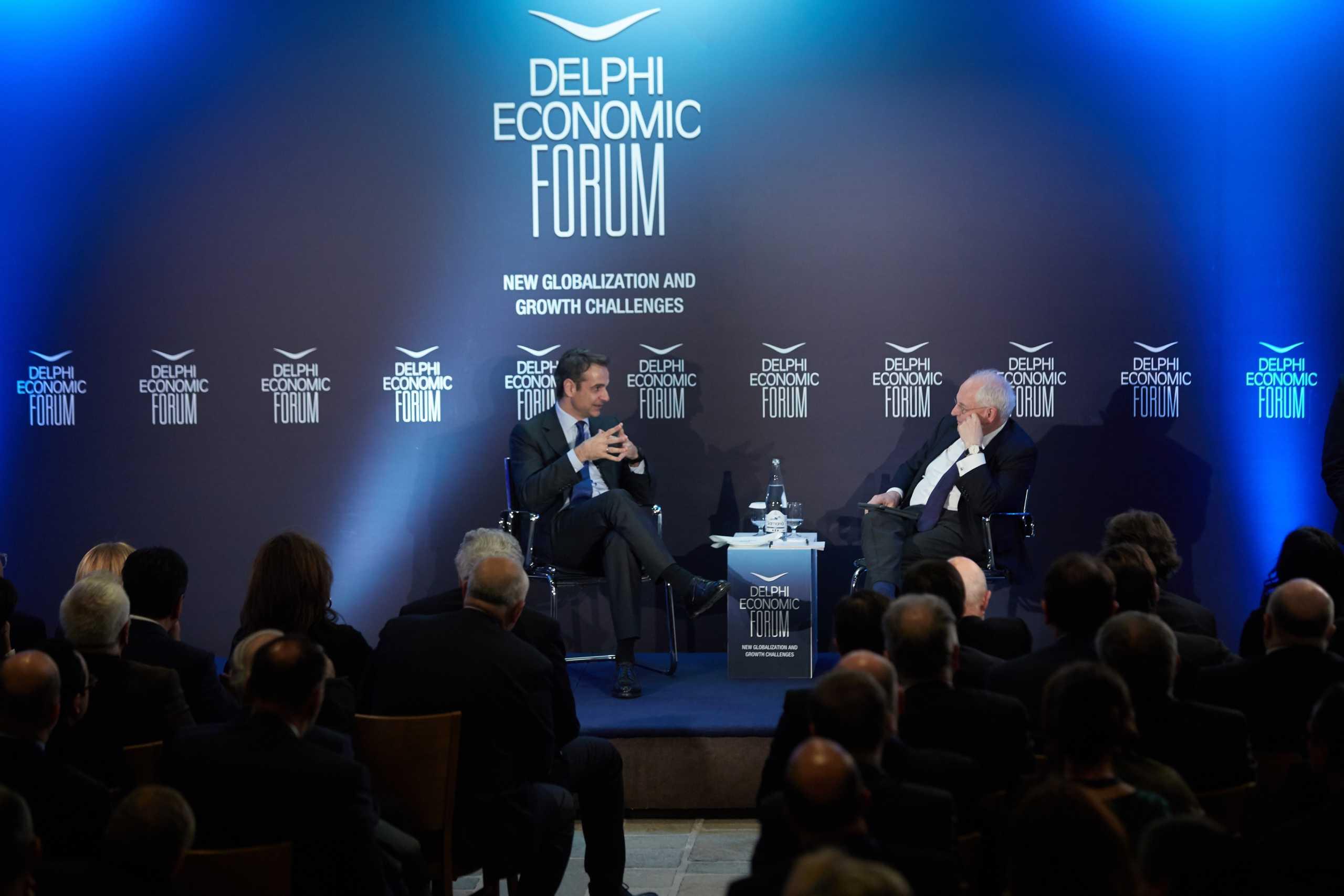 Κορονοϊός: Αναβάλλεται το Οικονομικό Φόρουμ των Δελφών λόγω των κρουσμάτων