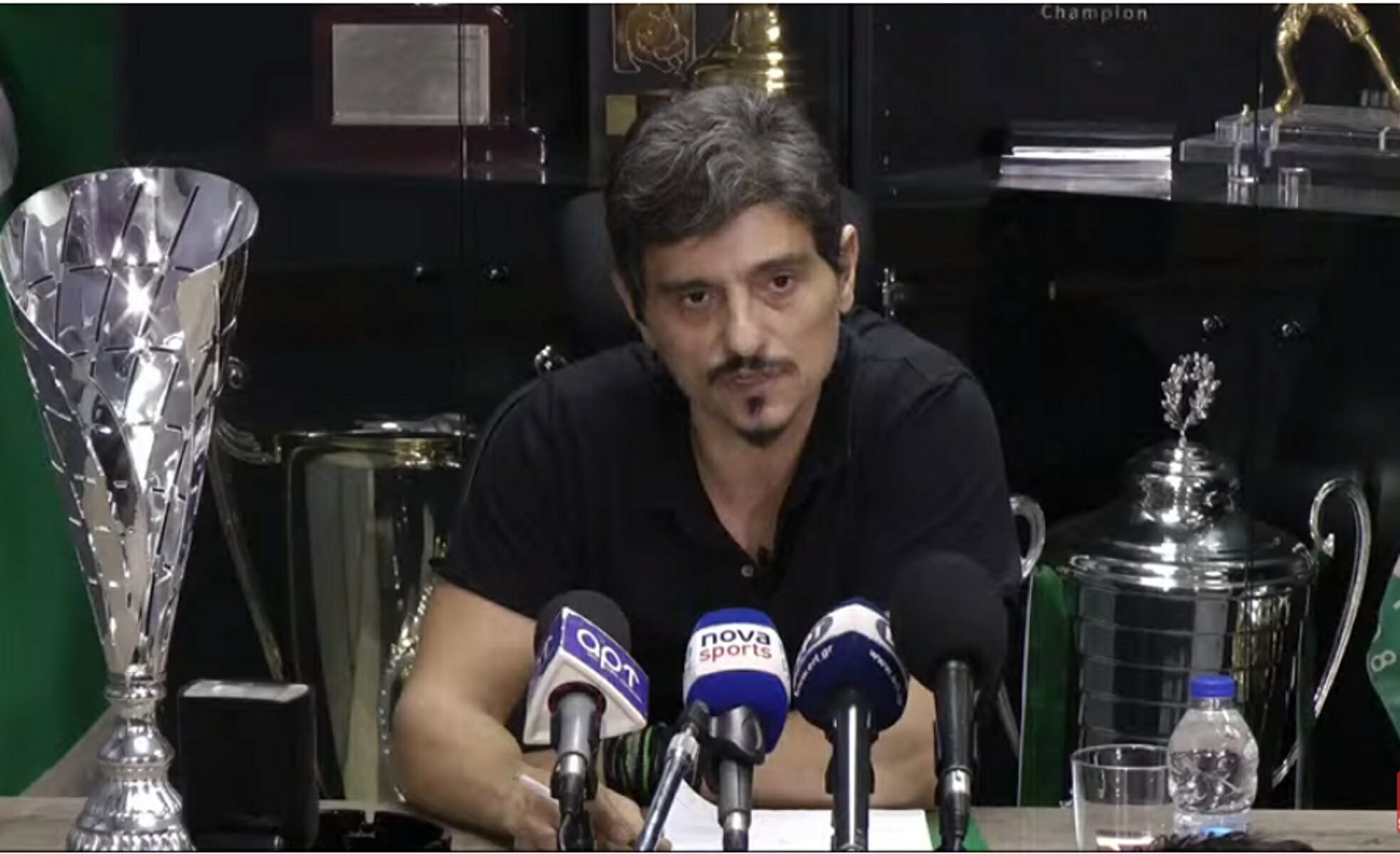"""Παναθηναϊκός: Σφοδρή επίθεση Δημήτρη Γιαννακόπουλου στους οργανωμένους! """"Θα σας βάλω στον κ@@ο τις κουκούλες!"""""""