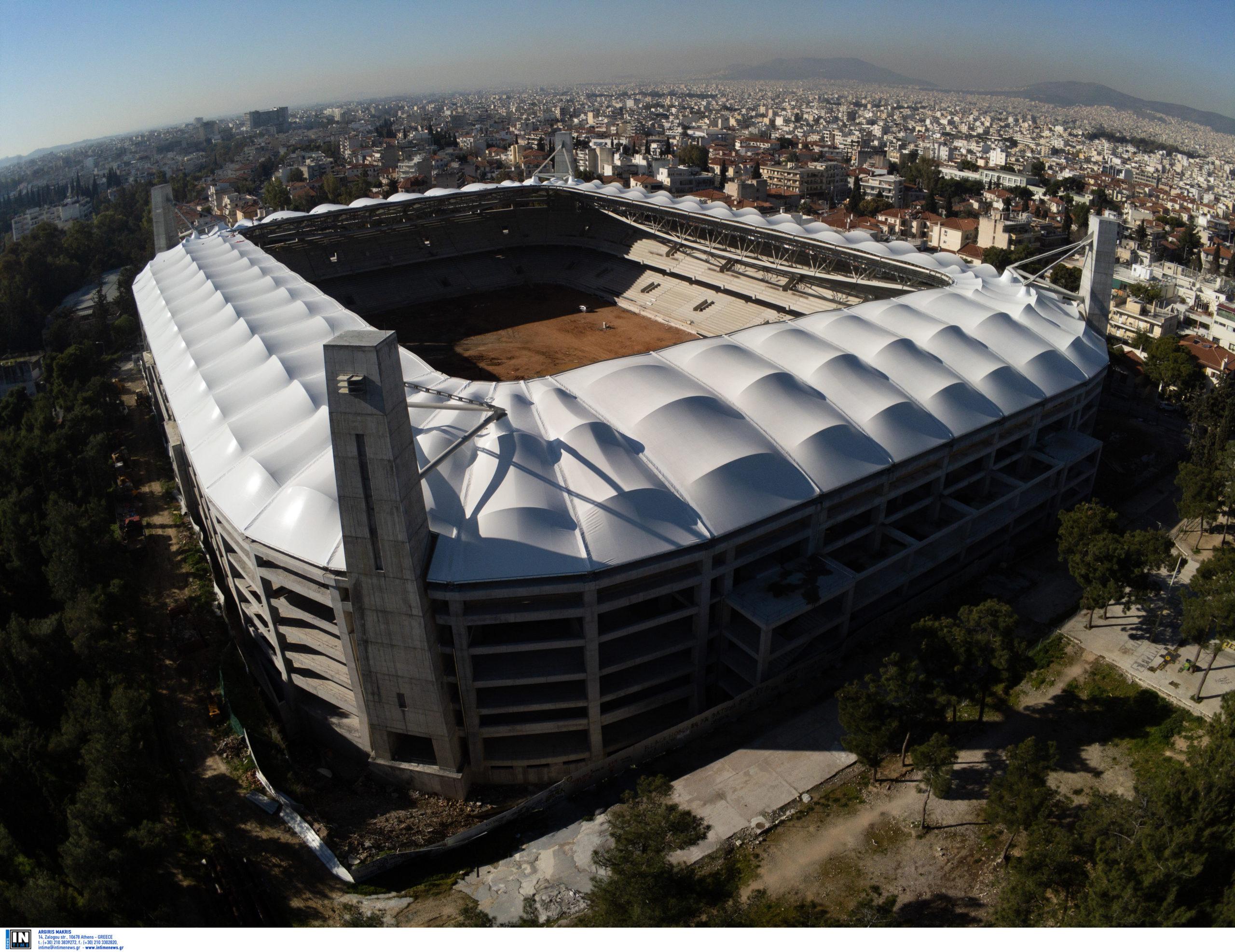 """Γήπεδο ΑΕΚ: Πανοραμική εικόνα από την """"Αγιά Σοφιά"""" και το άλσος στη Νέα Φιλαδέλφια (pic)"""