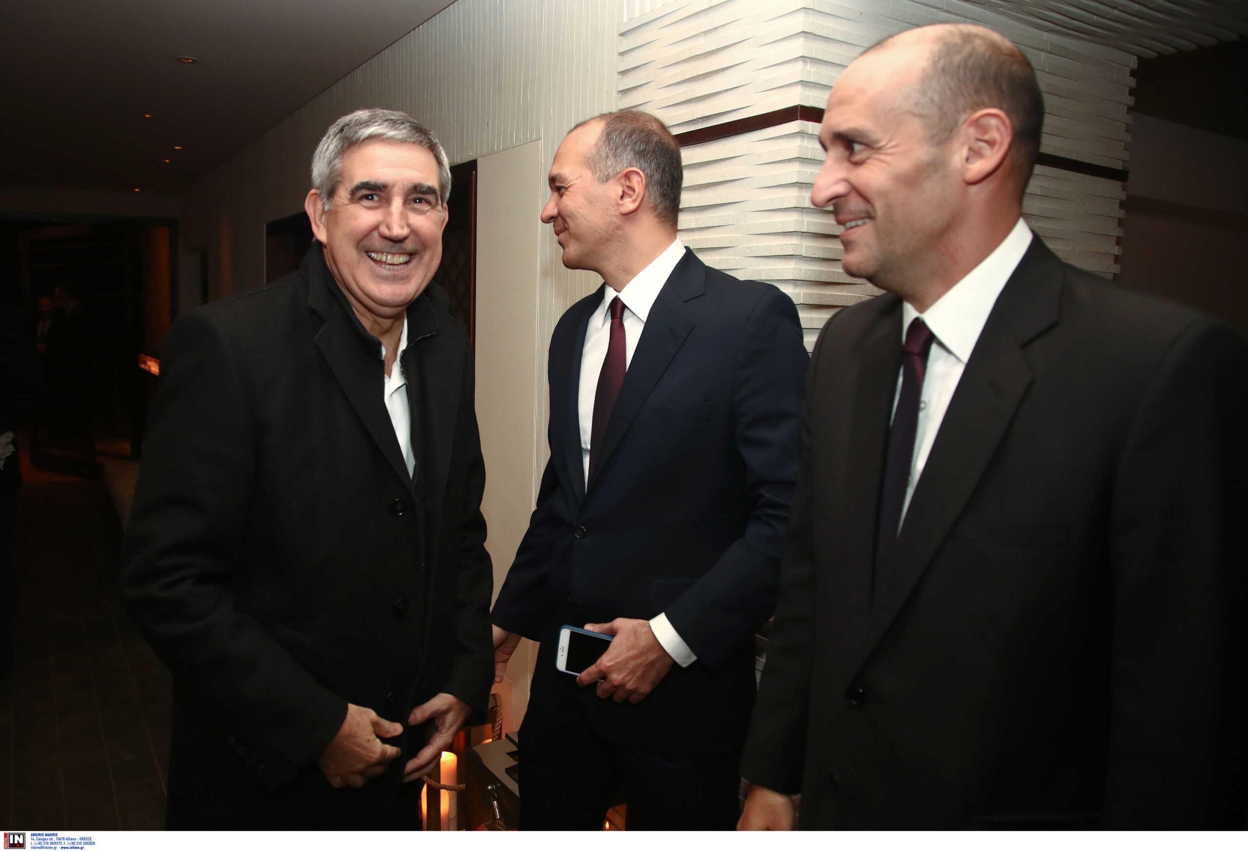Ολυμπιακός: Συναντήθηκαν Αγγελόπουλοι – Μπερτομέου στην Αθήνα