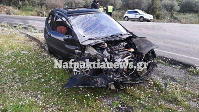 Οδηγός αυτοκινήτου εκσφενδονίστηκε μετά από σύγκρουση με νταλίκα - Σοκαριστικά πλάνα
