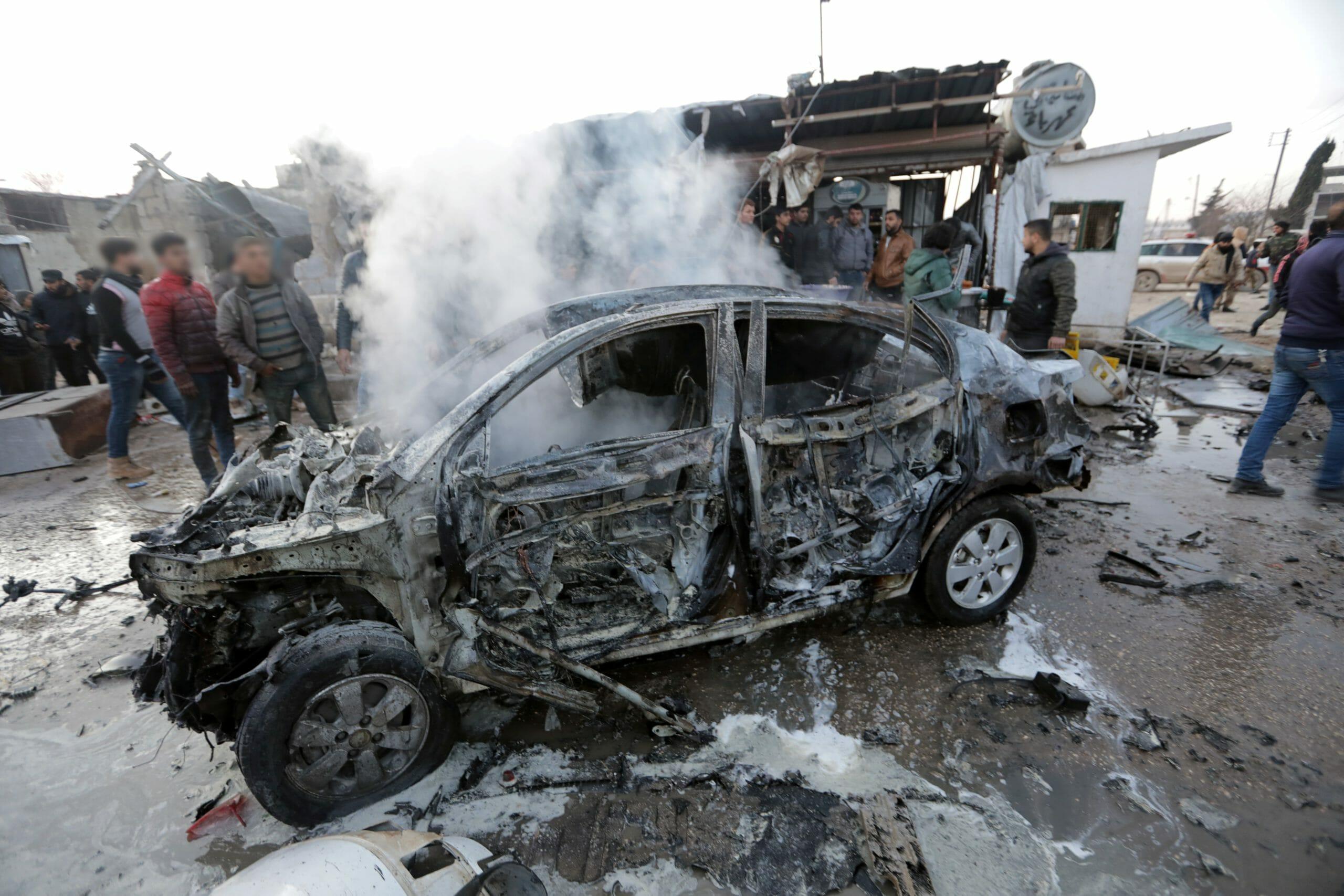 Πολλά θύματα από έκρηξη στα σύνορα της Συρίας με την Τουρκία
