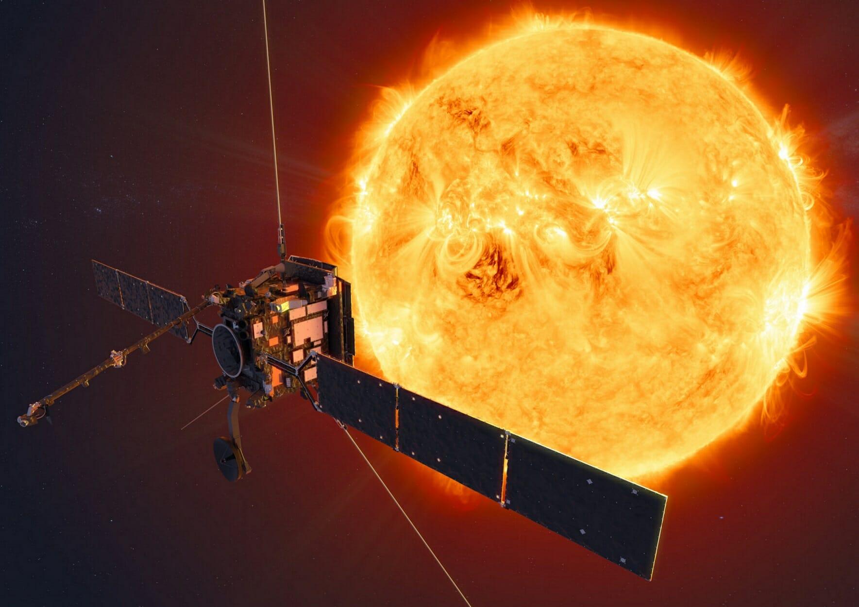 """Έρχονται τα πρώτα """"κλικ"""" από τους πόλους του 'Ήλιου! Εκτοξεύτηκε το Solar Orbiter"""