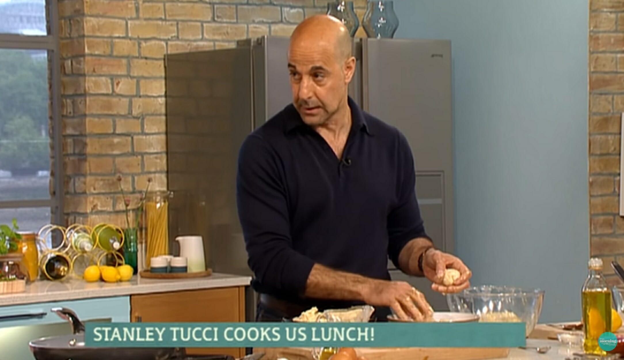 Στάνλεϊ Τούτσι: Παρουσιάζει νέα σειρά για την Ιταλία και το φαγητό της στο CNN