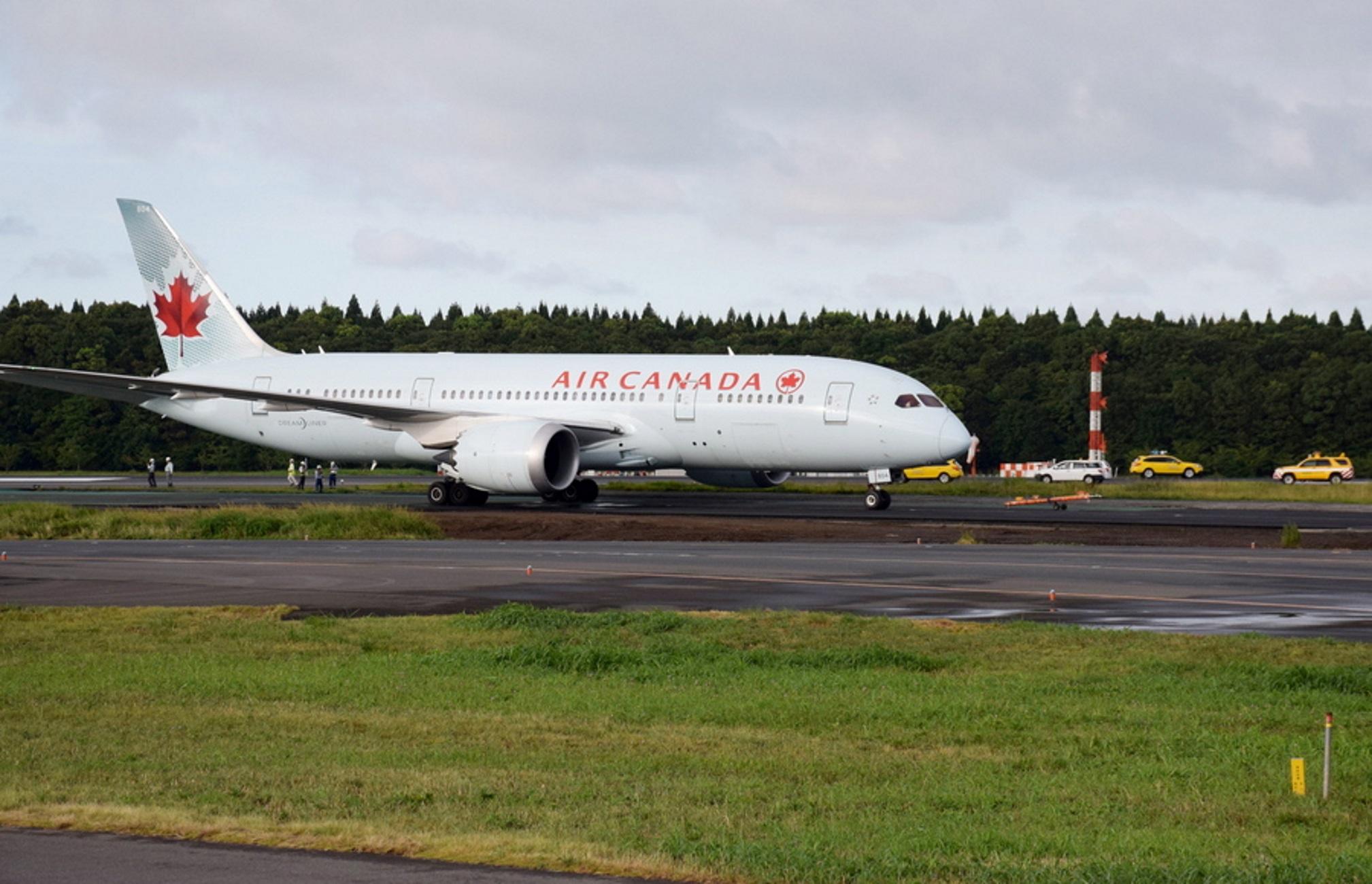 Συναγερμός με αεροσκάφος της Air Canada! Ζήτησε αναγκαστική προσγείωση στη Μαδρίτη